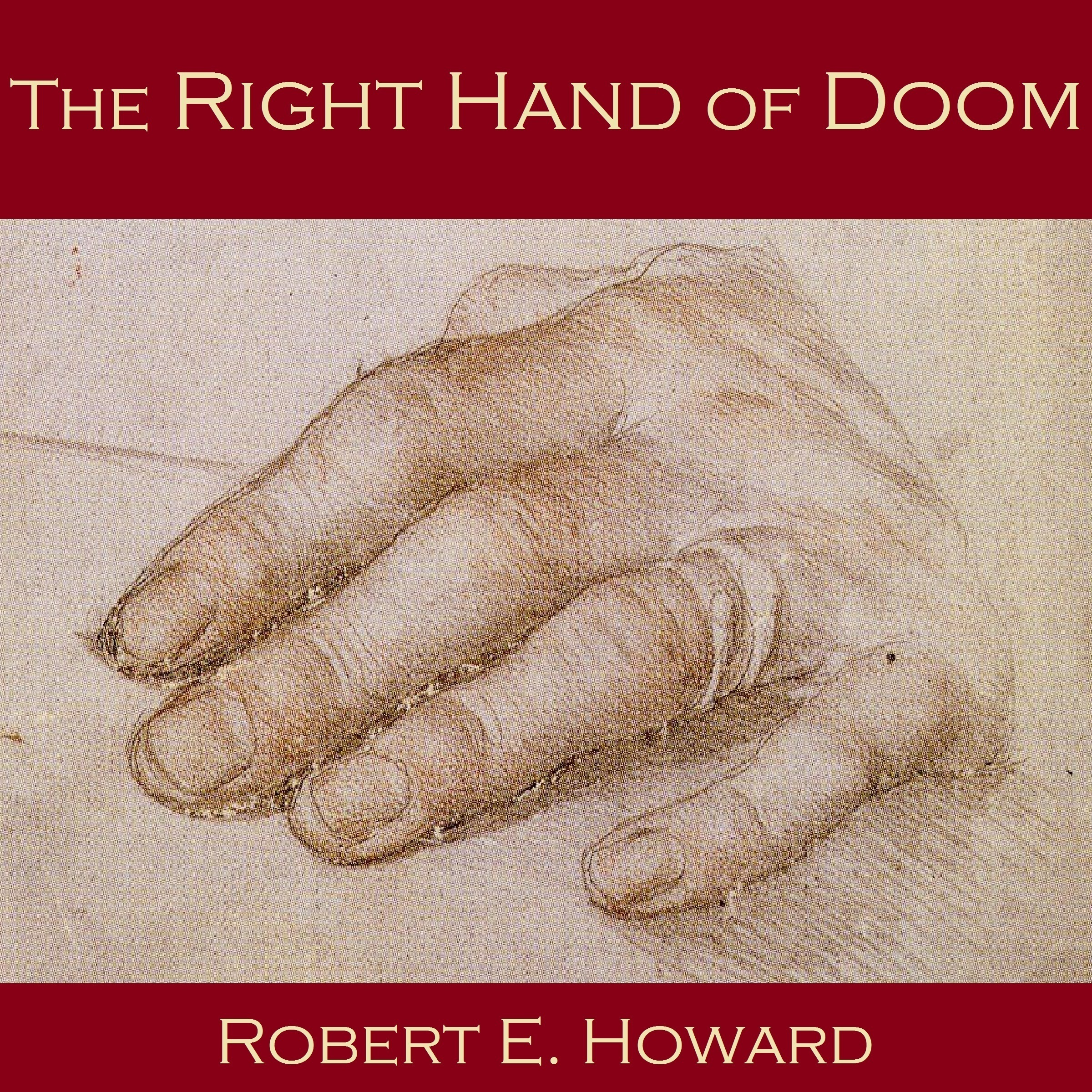 Printable The Right Hand of Doom Audiobook Cover Art