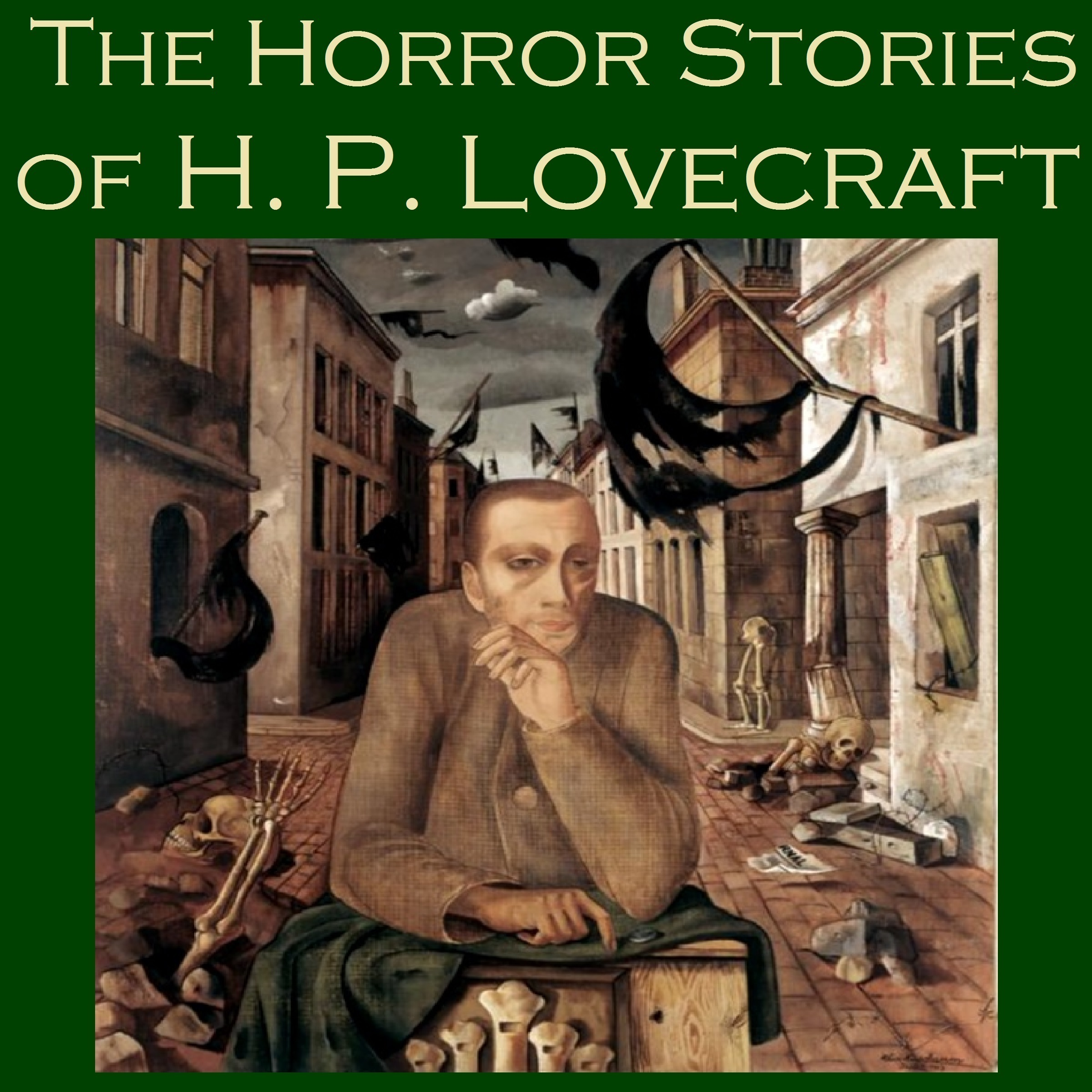 Printable The Horror Stories of H. P. Lovecraft: Thirteen Terrifying Tales Audiobook Cover Art