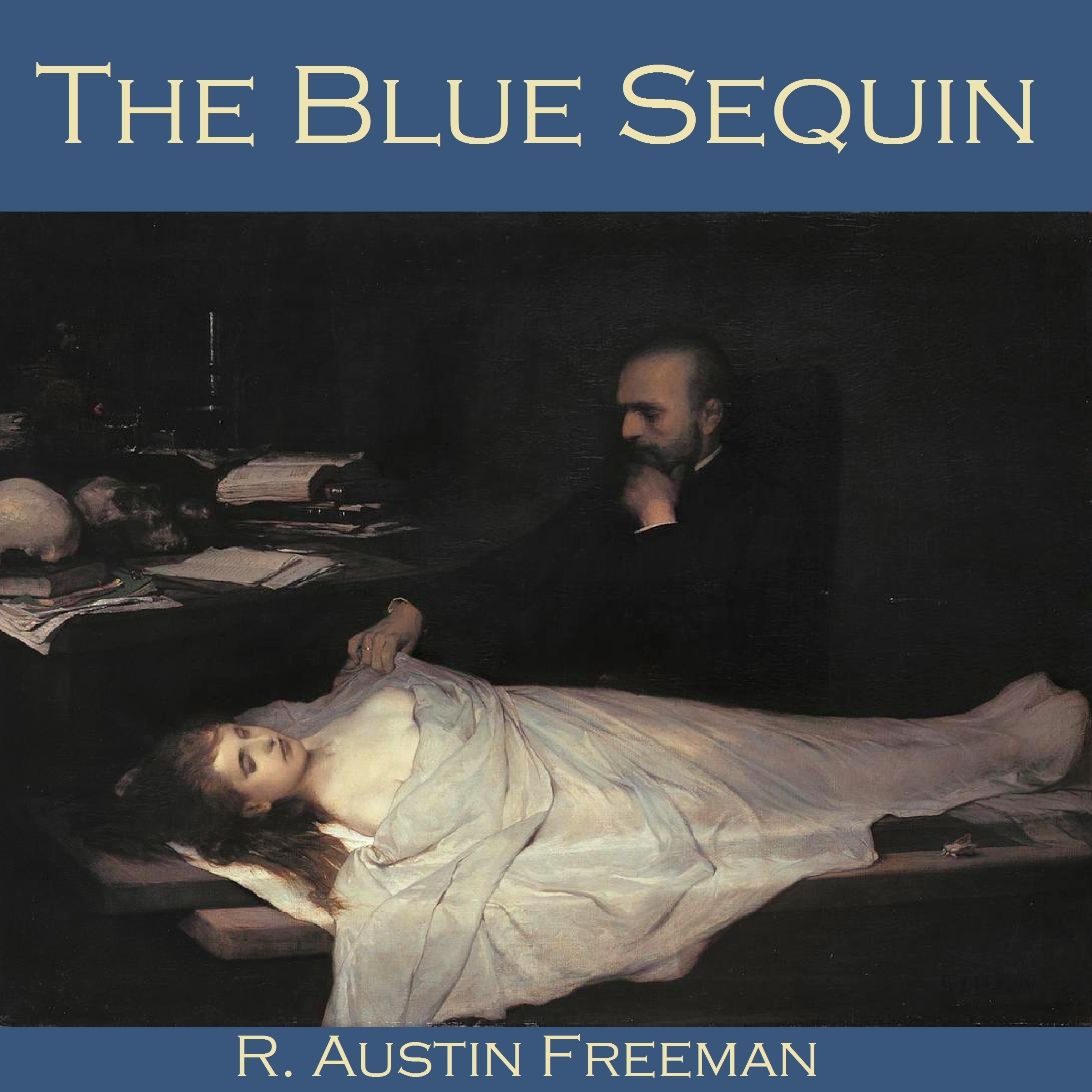Printable The Blue Sequin Audiobook Cover Art