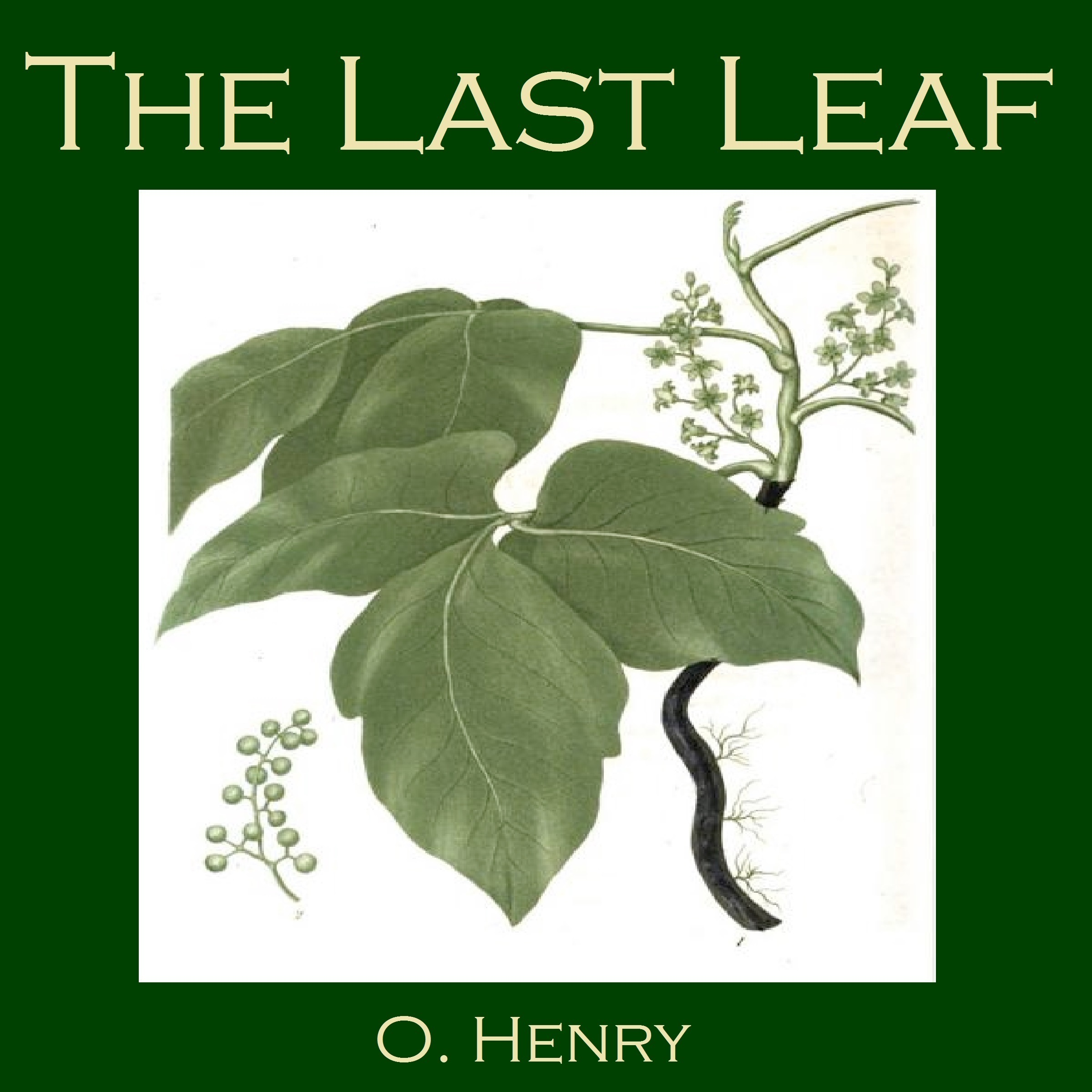 Printable The Last Leaf Audiobook Cover Art