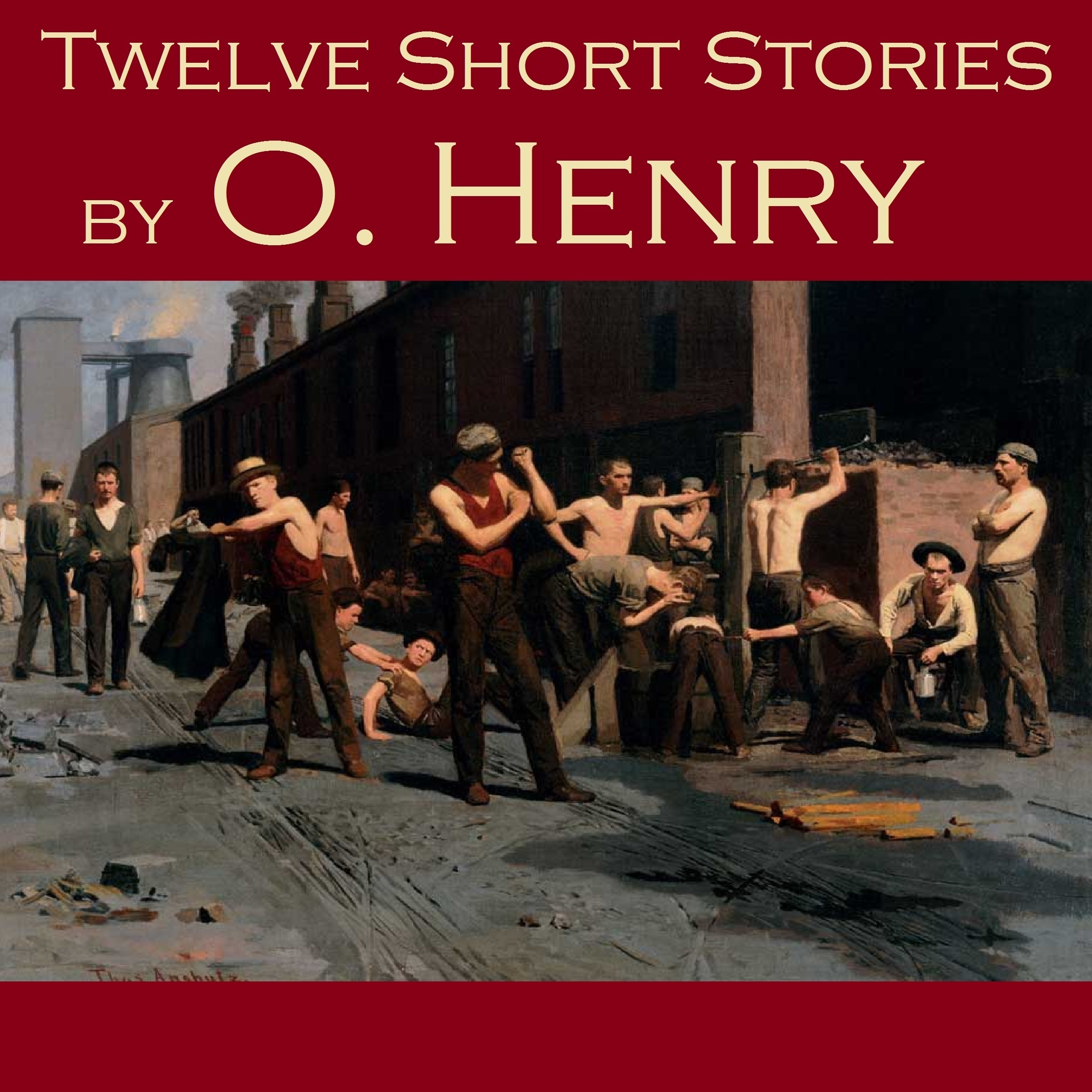 Printable Twelve Short Stories by O. Henry Audiobook Cover Art