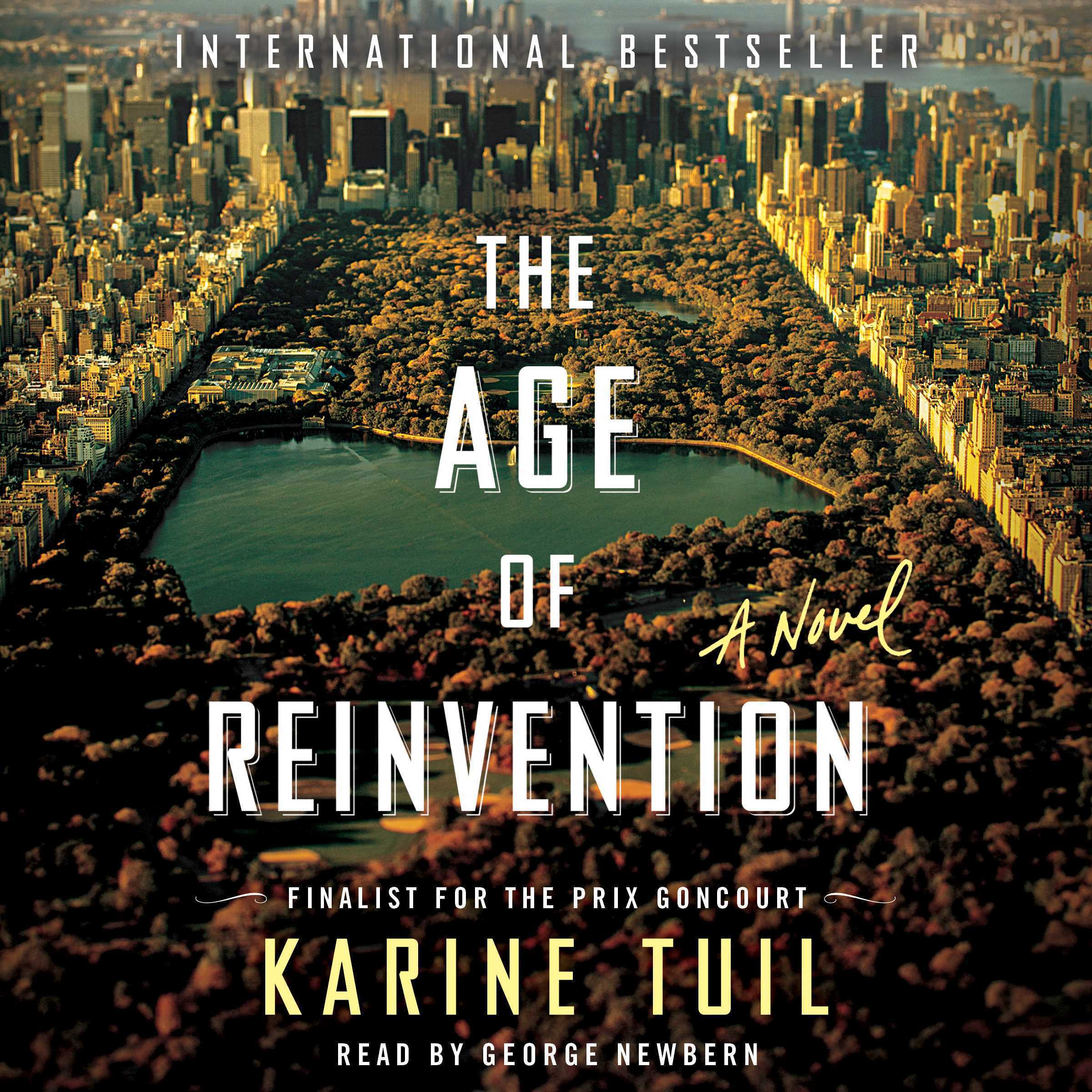 Printable The Age of Reinvention: A Novel Audiobook Cover Art