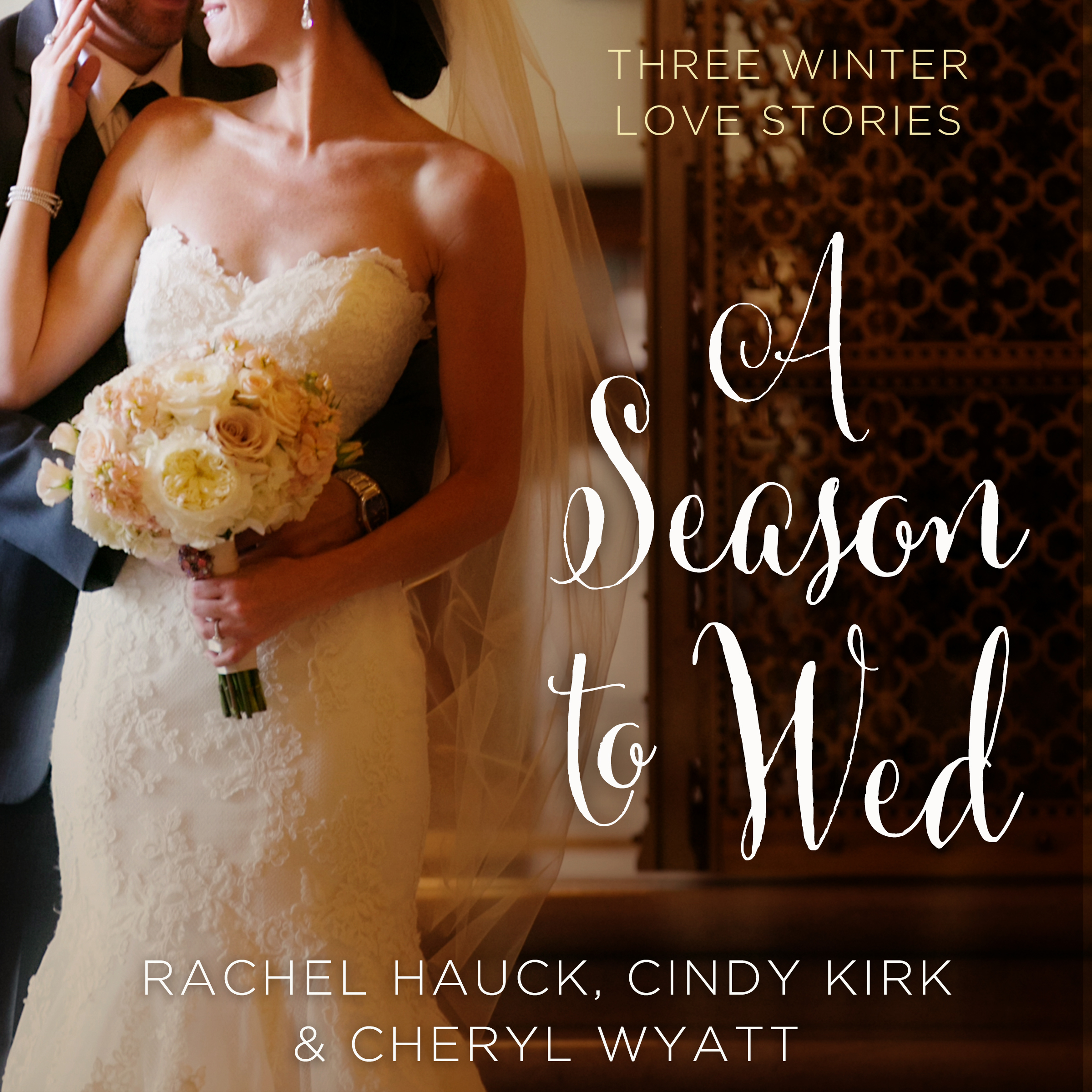 Printable A Season to Wed: Three Winter Love Stories Audiobook Cover Art