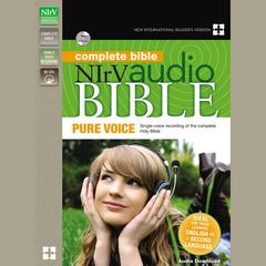 NIrV Audio Bible, Pure Voice Audiobook, by Zondervan