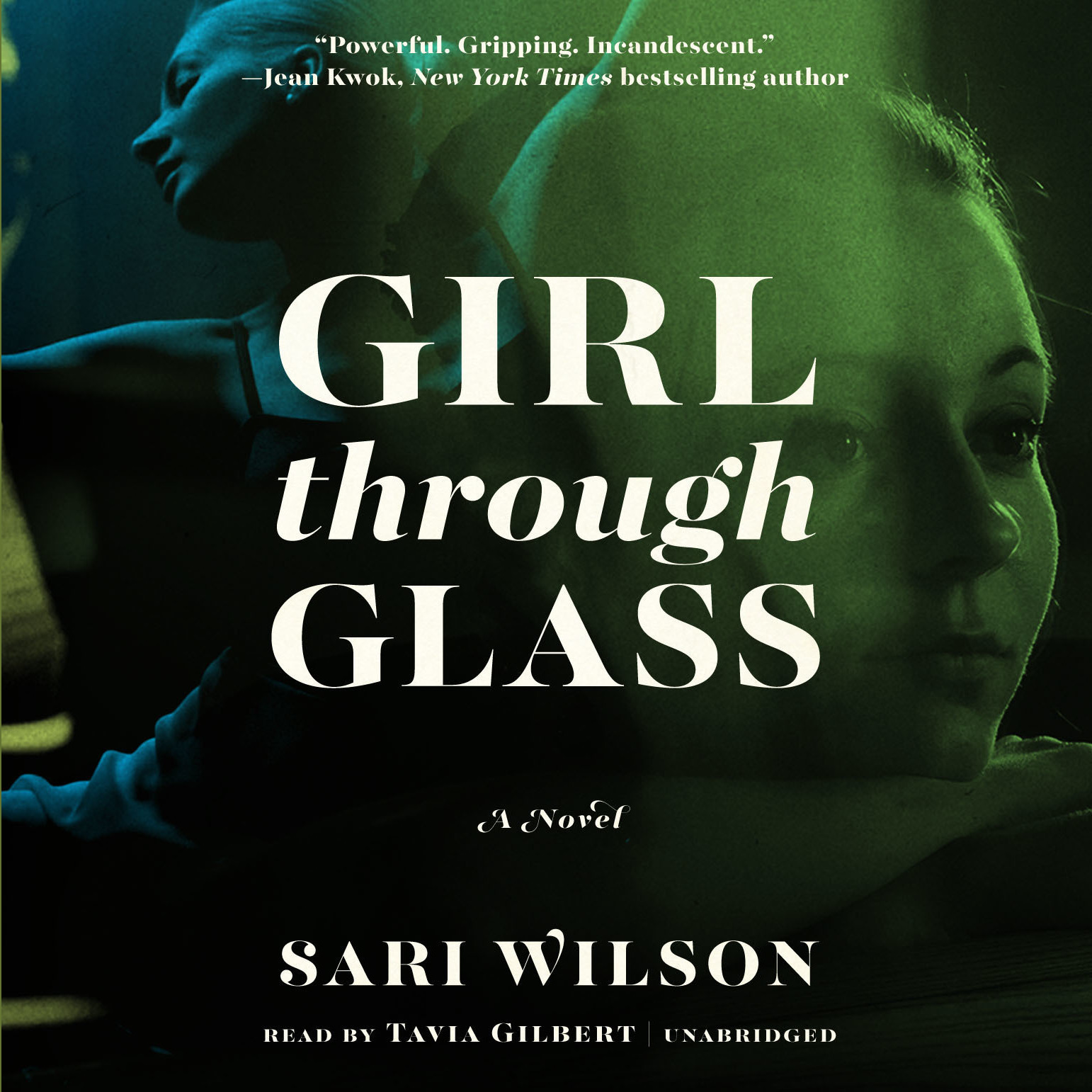 Printable Girl through Glass: A Novel Audiobook Cover Art