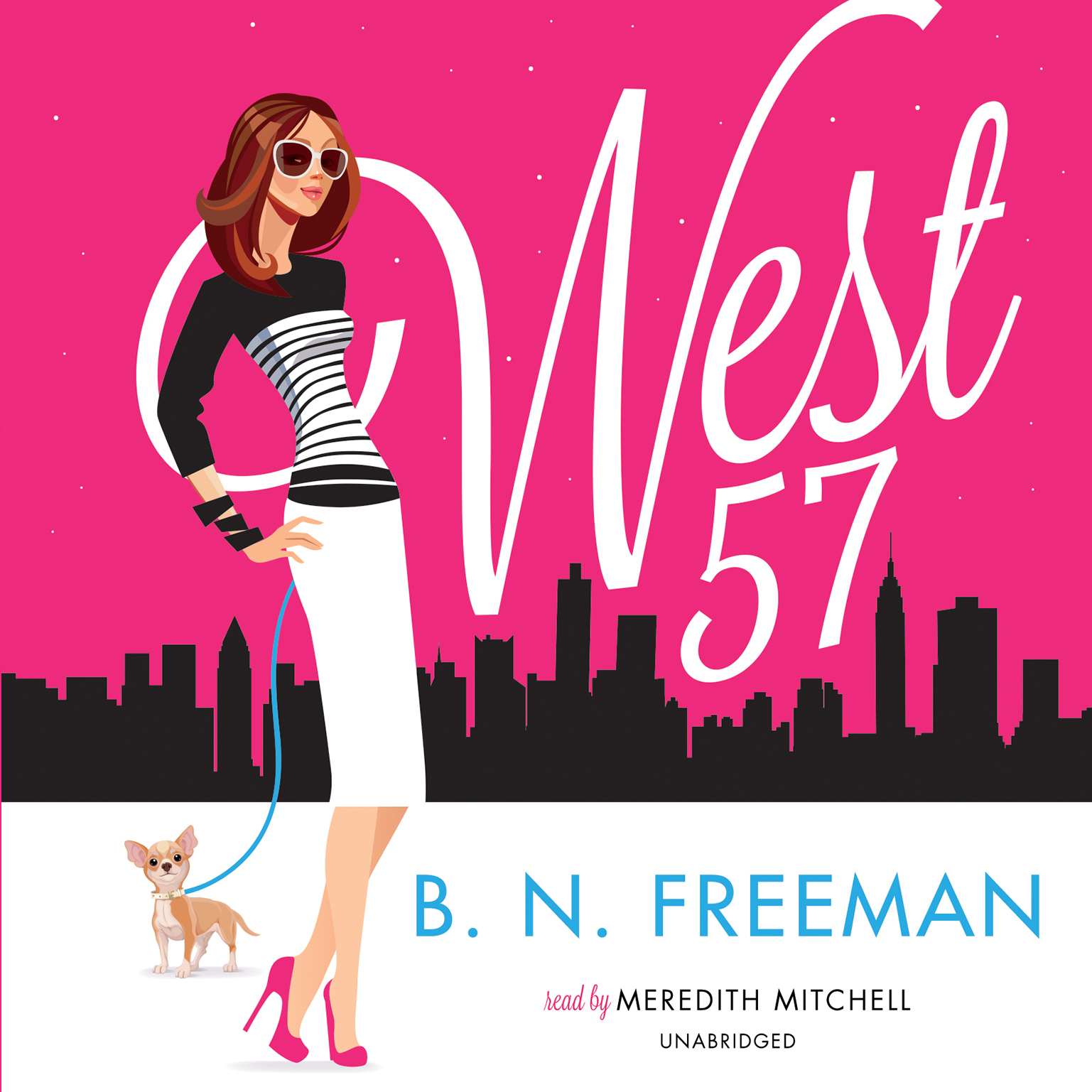 Printable West 57 Audiobook Cover Art