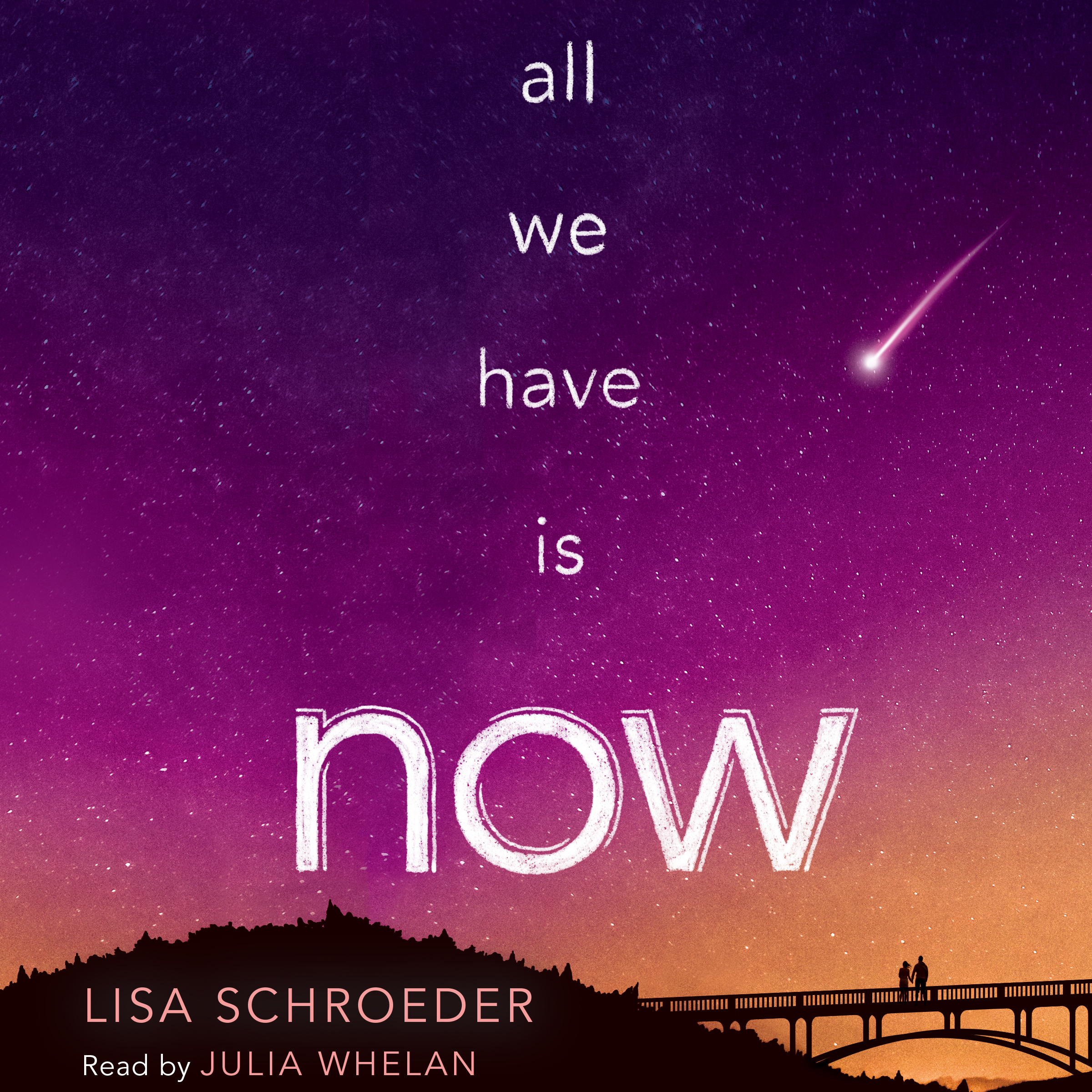Printable All We Have Is Now Audiobook Cover Art