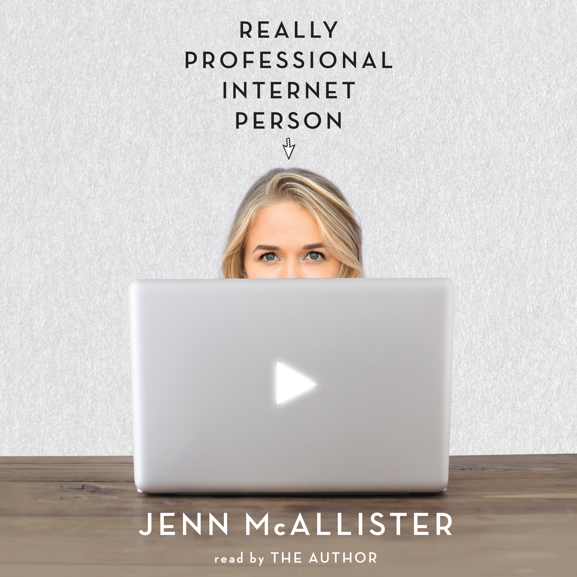 Printable Really Professional Internet Person Audiobook Cover Art