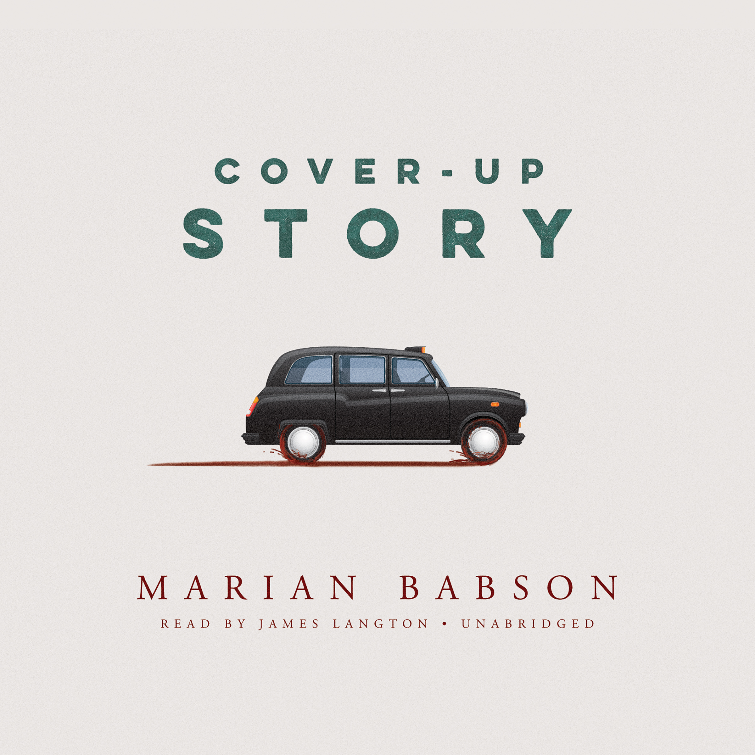 Printable Cover-Up Story Audiobook Cover Art