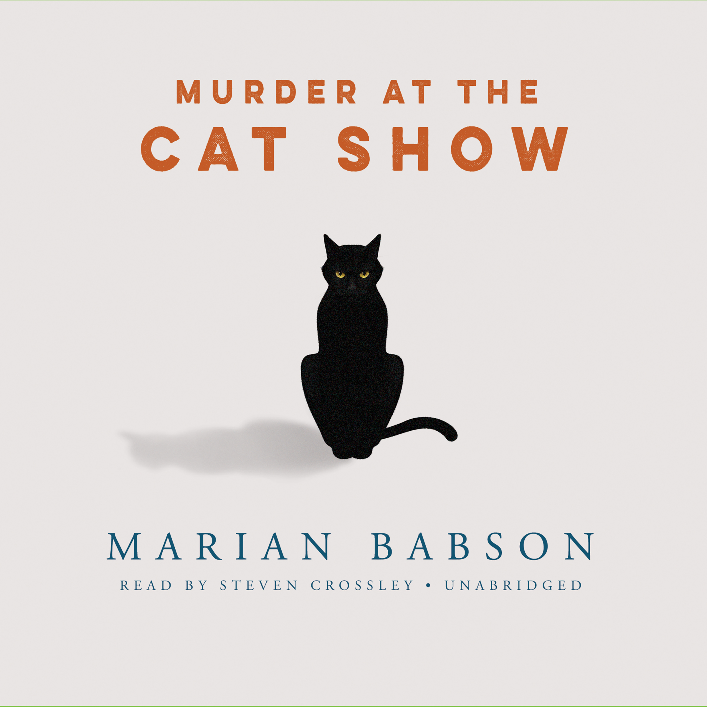 Printable Murder at the Cat Show Audiobook Cover Art