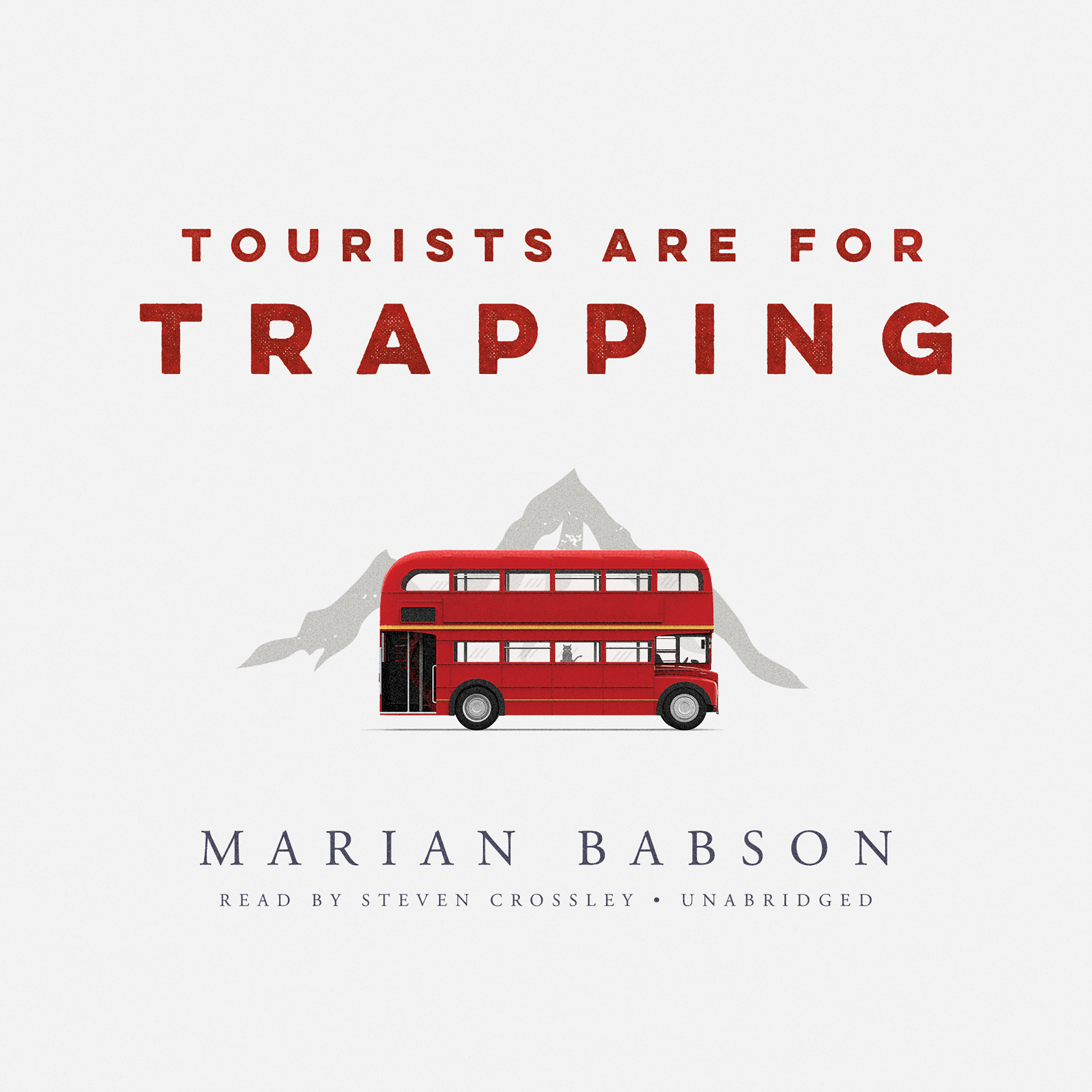 Printable Tourists Are for Trapping Audiobook Cover Art