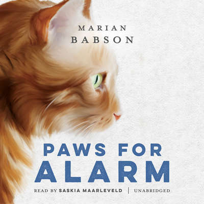 Paws for Alarm Audiobook, by Marian Babson
