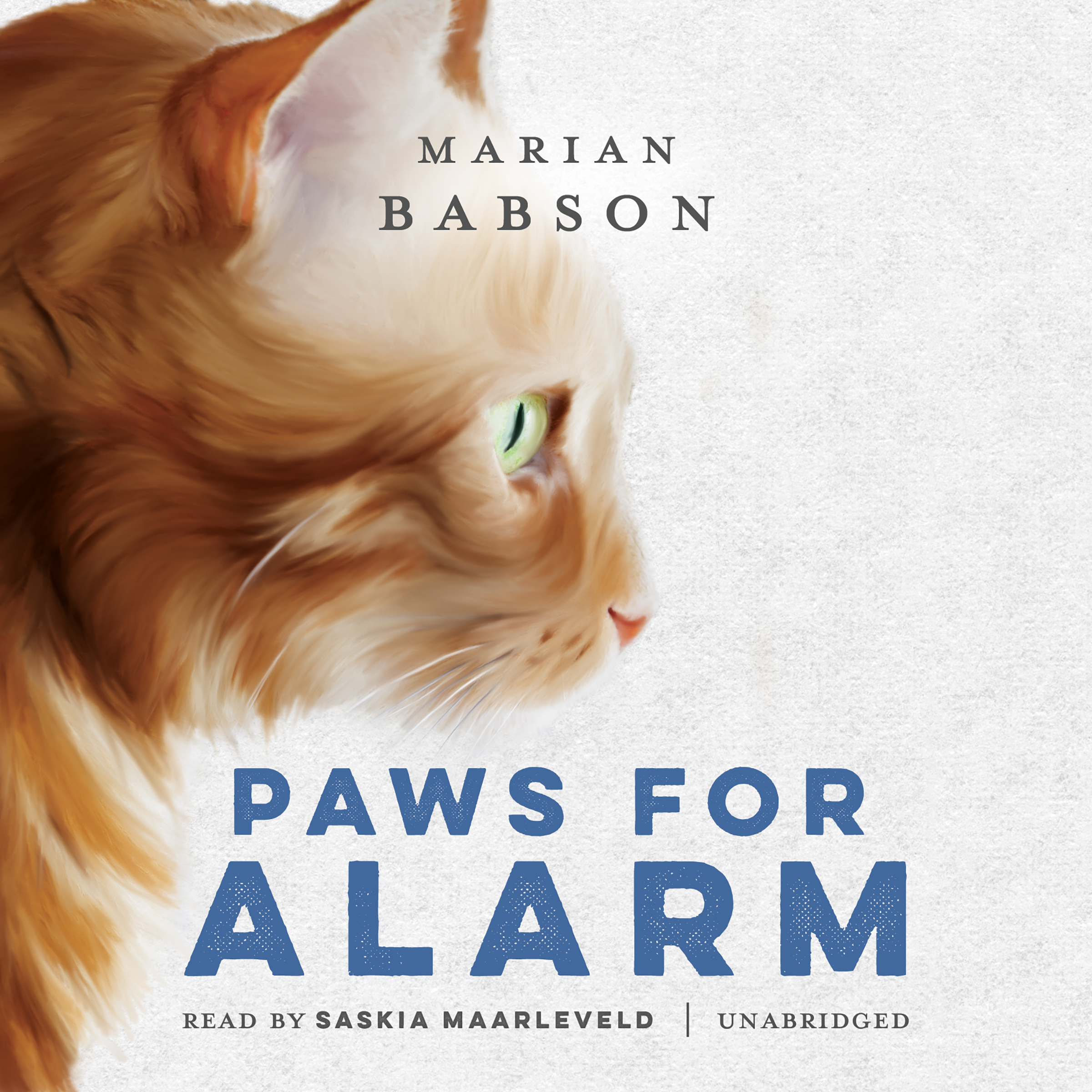 Printable Paws for Alarm Audiobook Cover Art