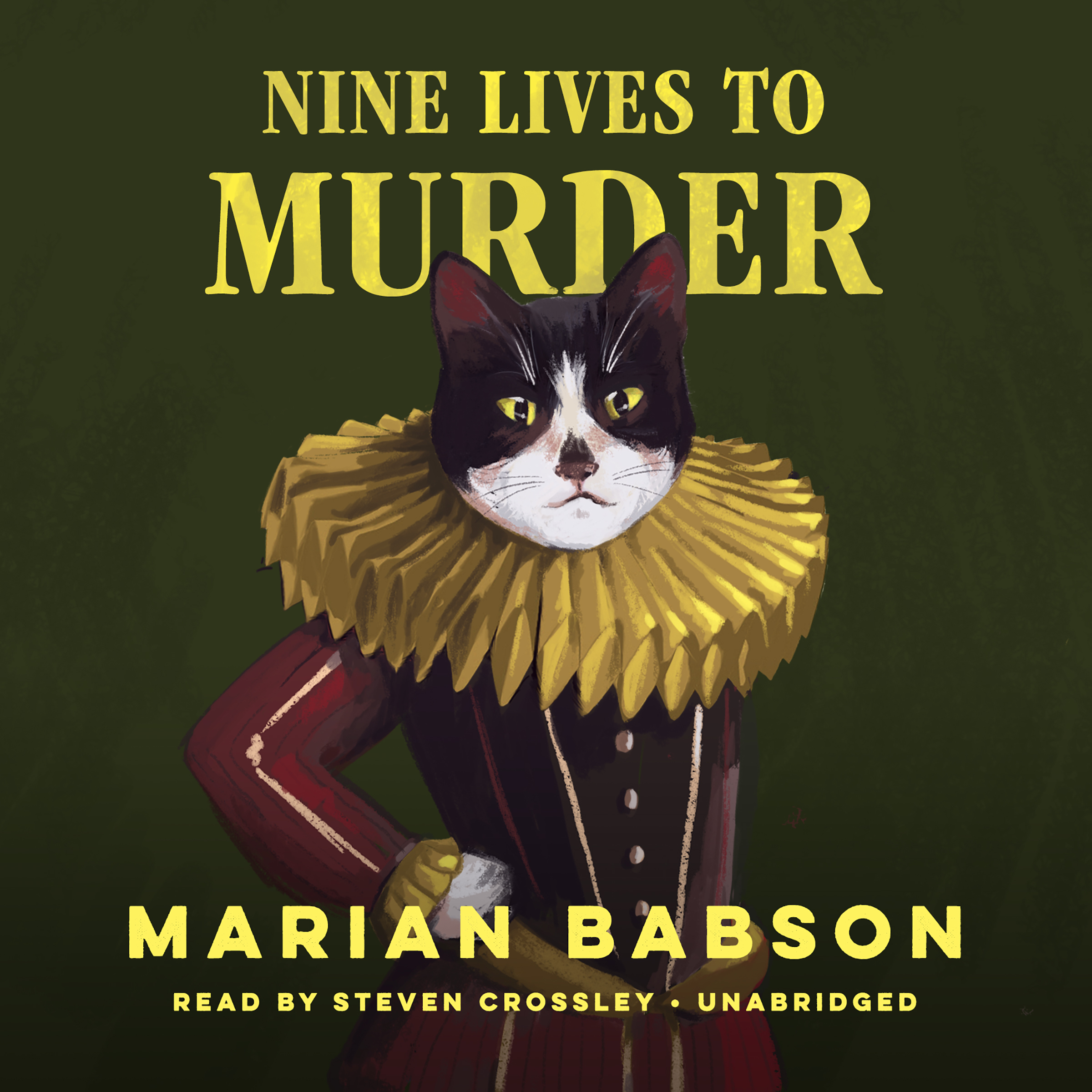 Printable Nine Lives to Murder Audiobook Cover Art