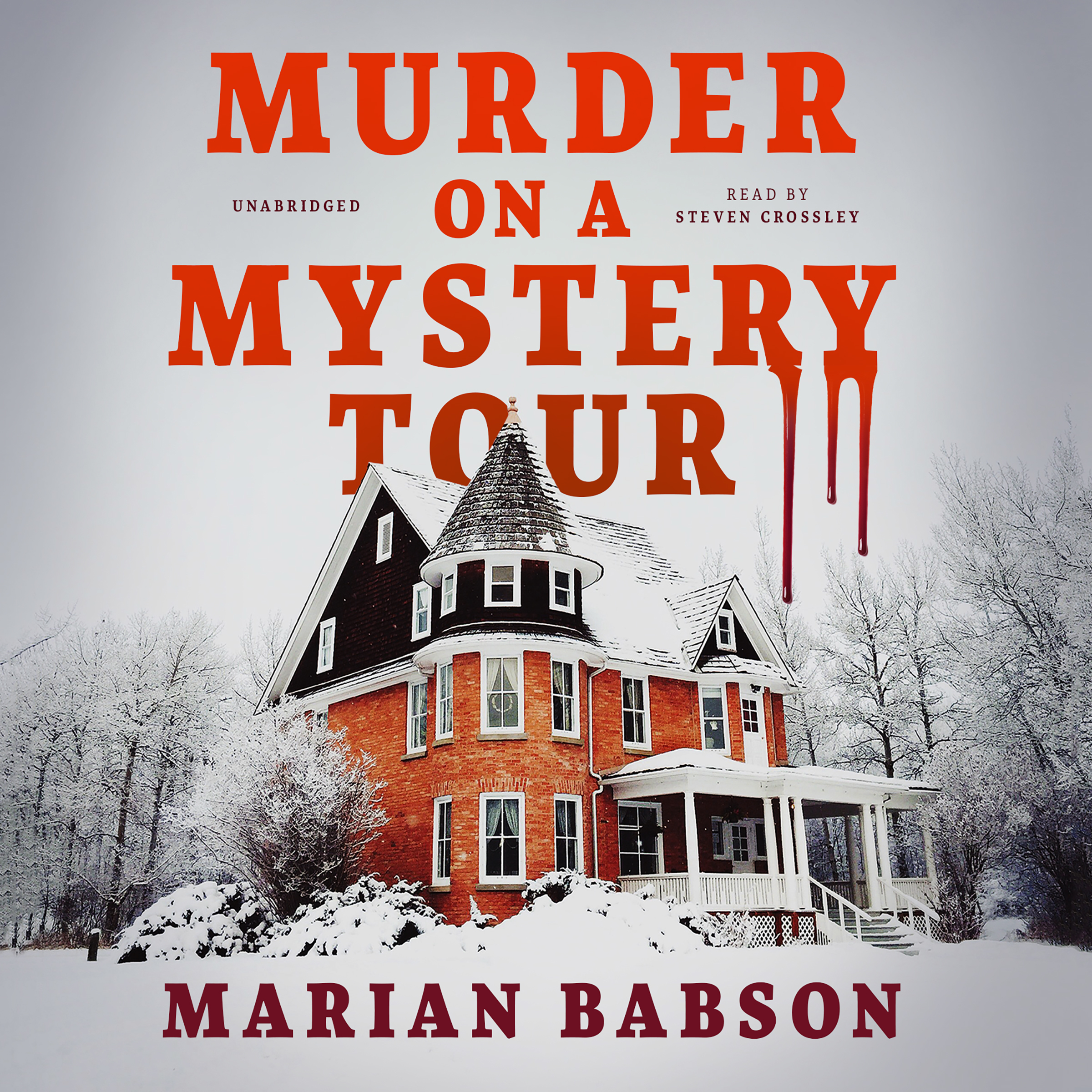 Printable Murder on a Mystery Tour Audiobook Cover Art