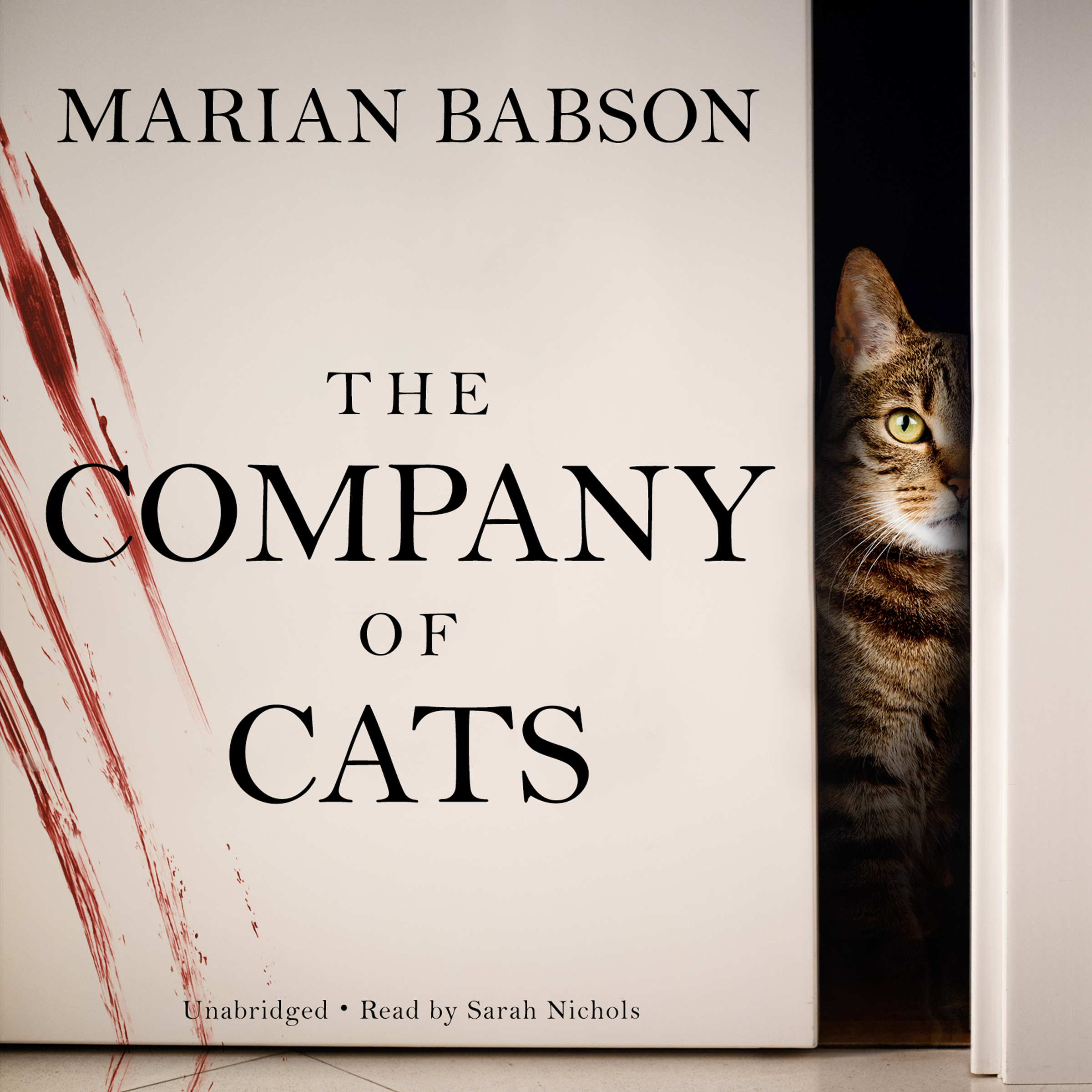 Printable The Company of Cats Audiobook Cover Art