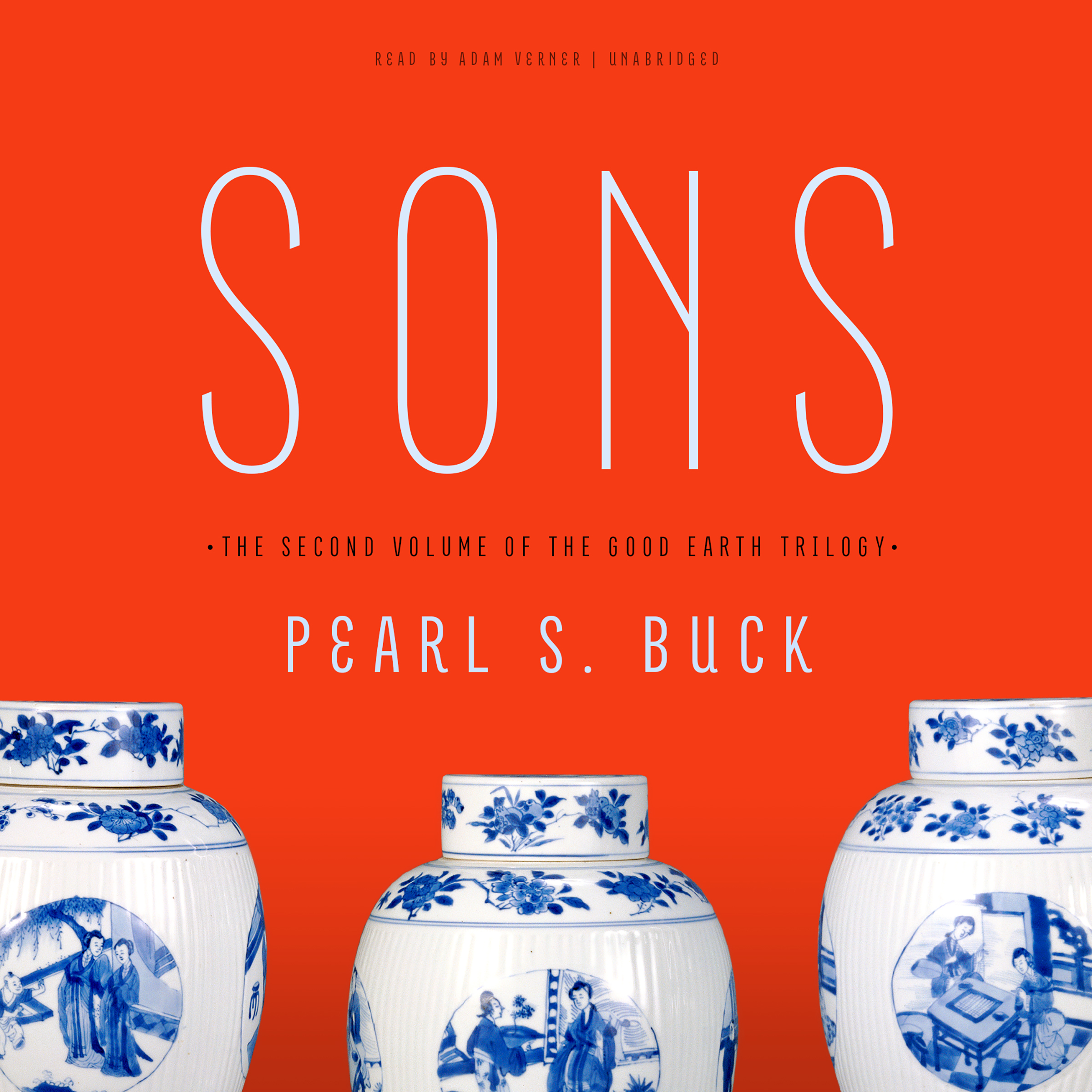 Printable Sons Audiobook Cover Art