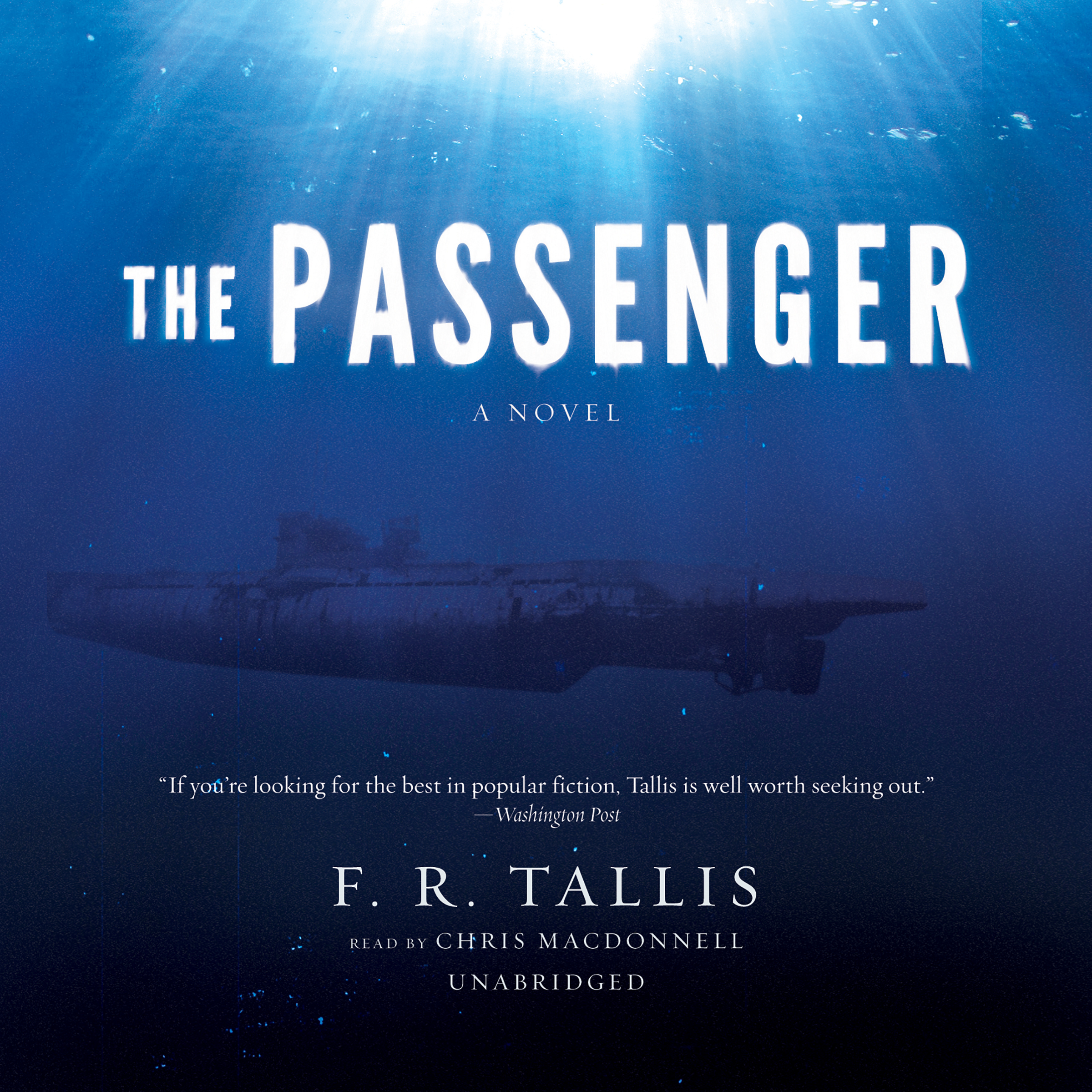 Printable The Passenger: A Novel Audiobook Cover Art