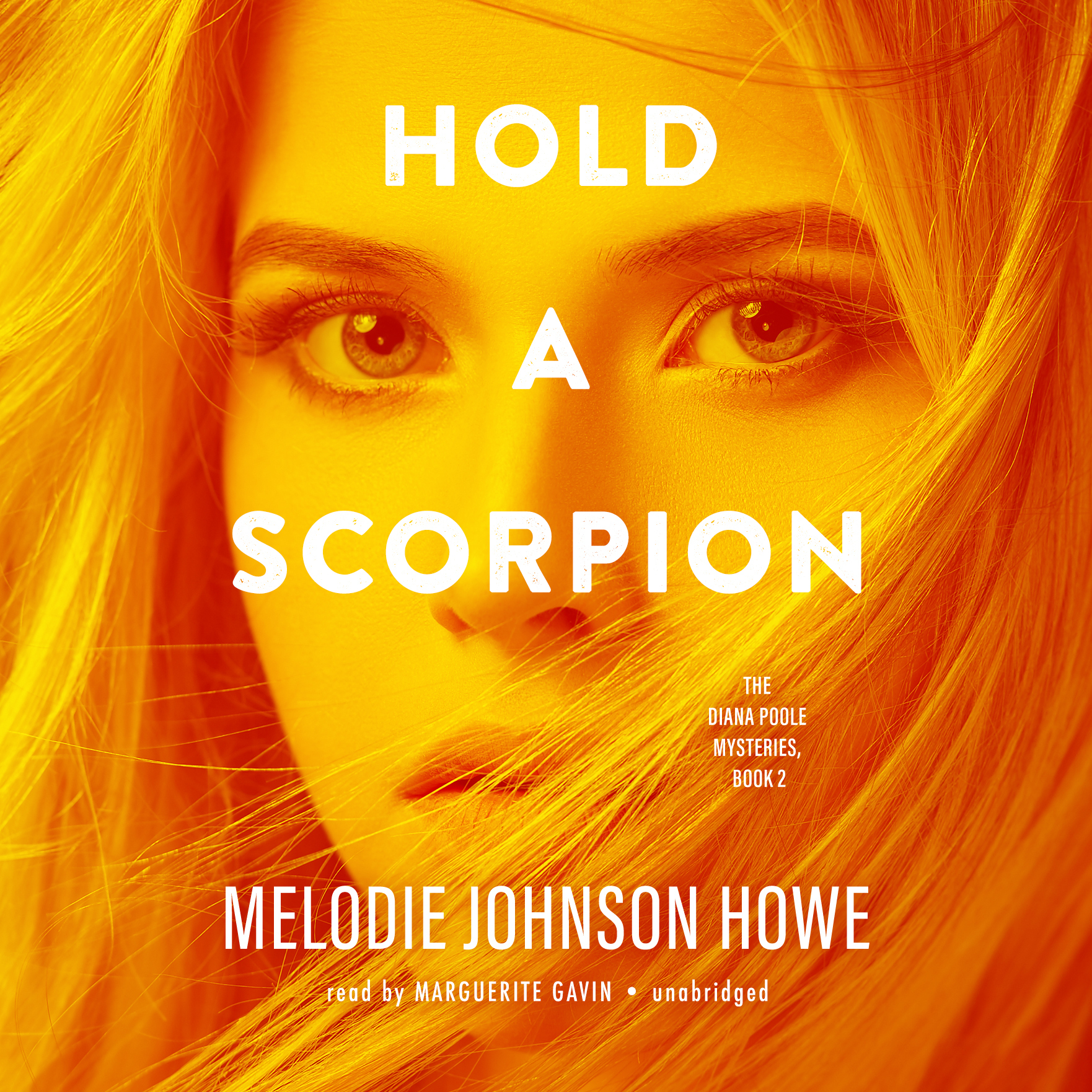 Printable Hold a Scorpion Audiobook Cover Art