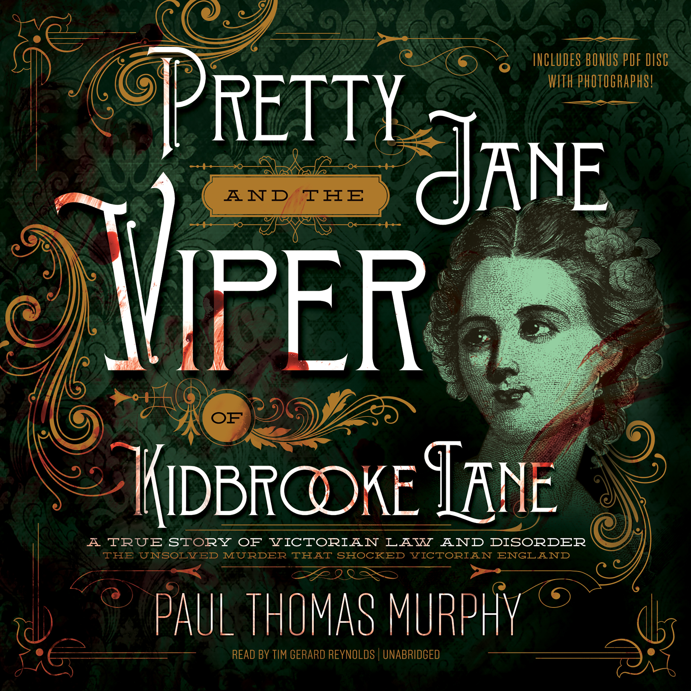 Printable Pretty Jane and the Viper of Kidbrooke Lane: A True Story of Victorian Law and Disorder Audiobook Cover Art