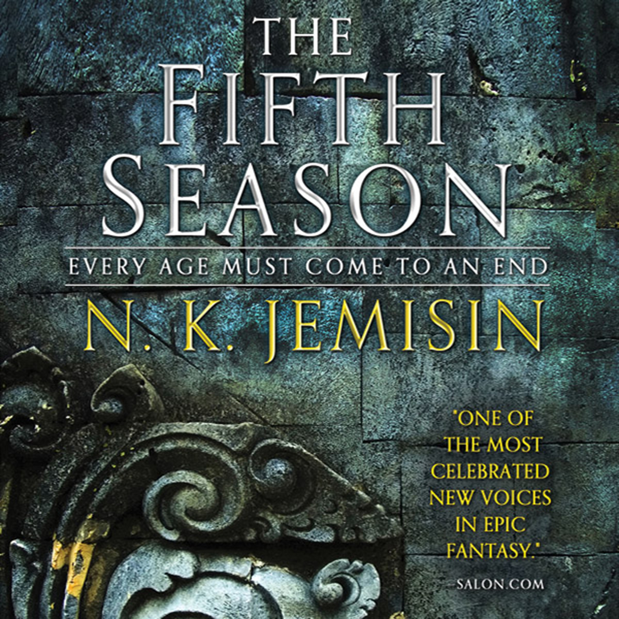 Printable The Fifth Season Audiobook Cover Art