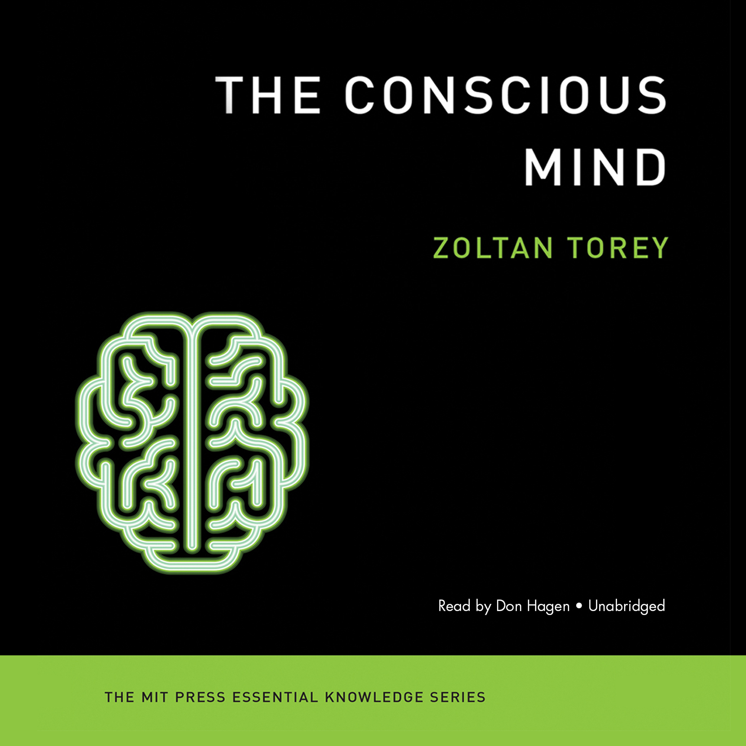 Printable The Conscious Mind Audiobook Cover Art