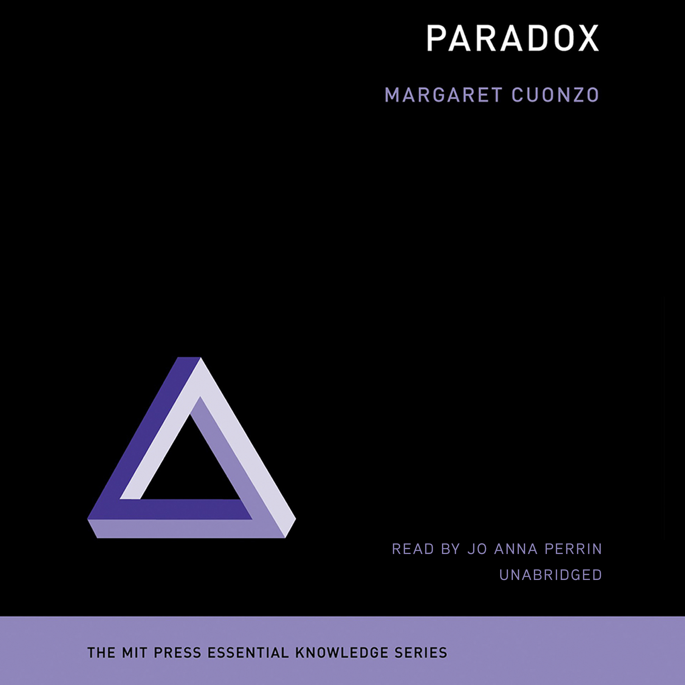 Printable Paradox Audiobook Cover Art