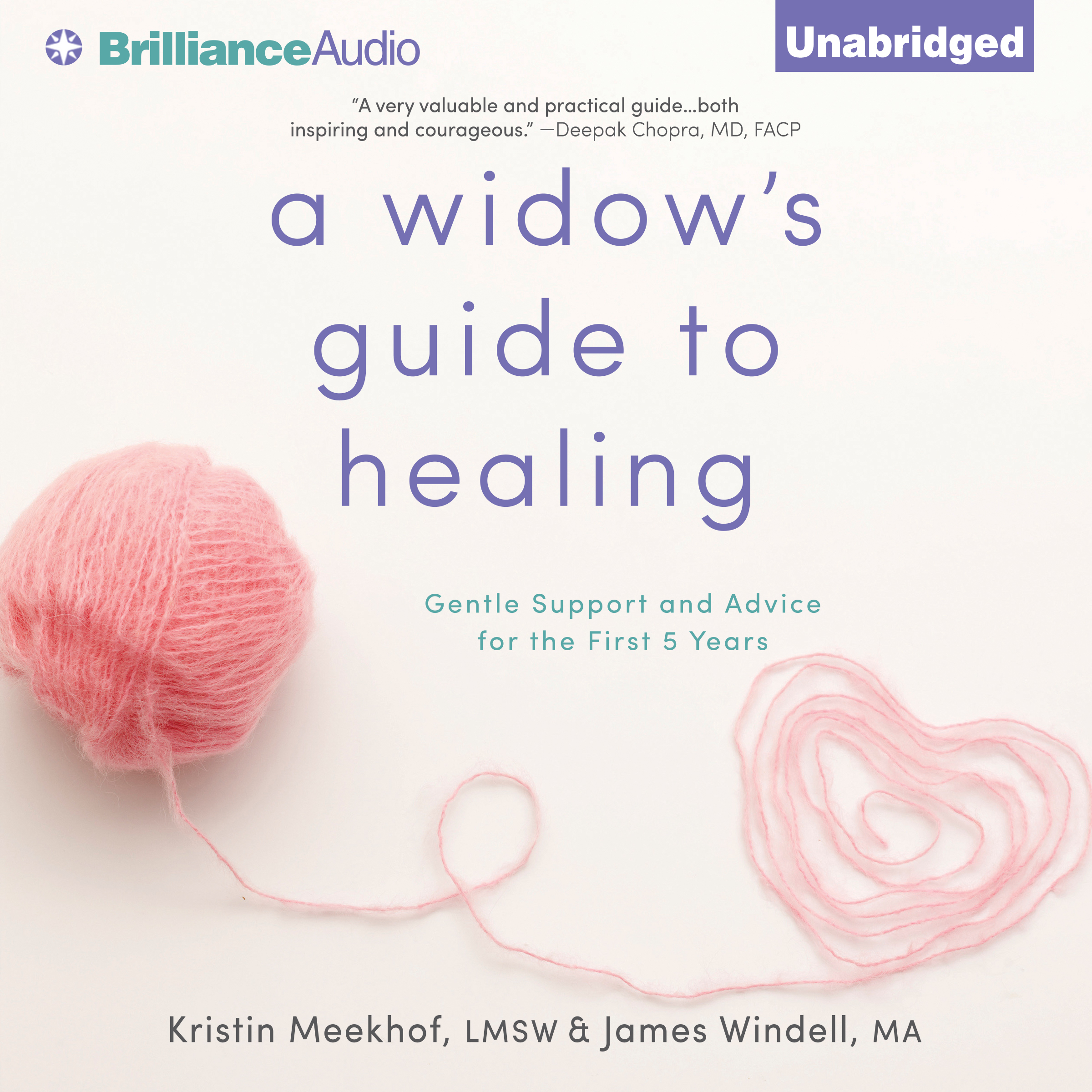 Printable A Widow's Guide to Healing: Gentle Support and Advice for the First 5 Years Audiobook Cover Art