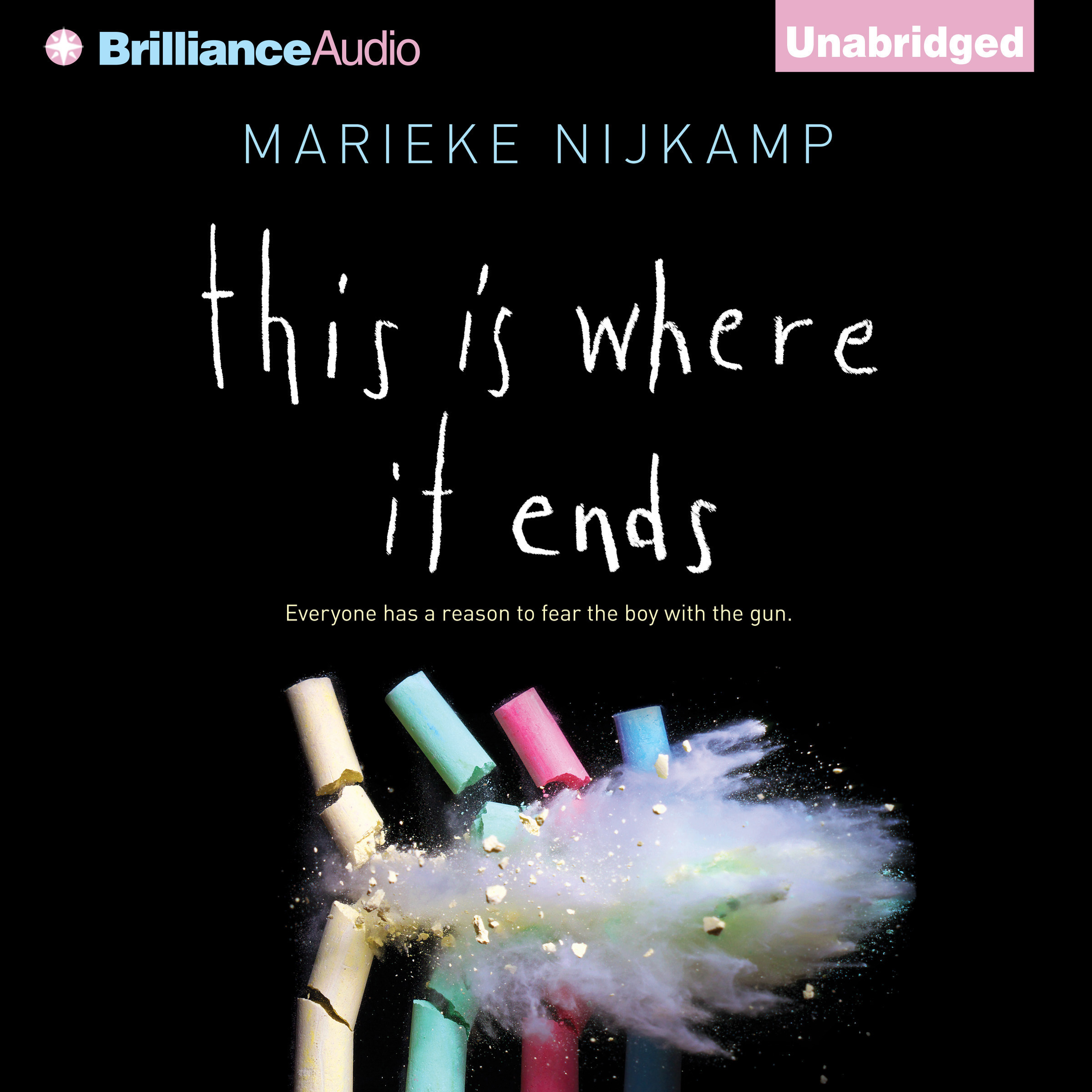 Printable This Is Where It Ends Audiobook Cover Art