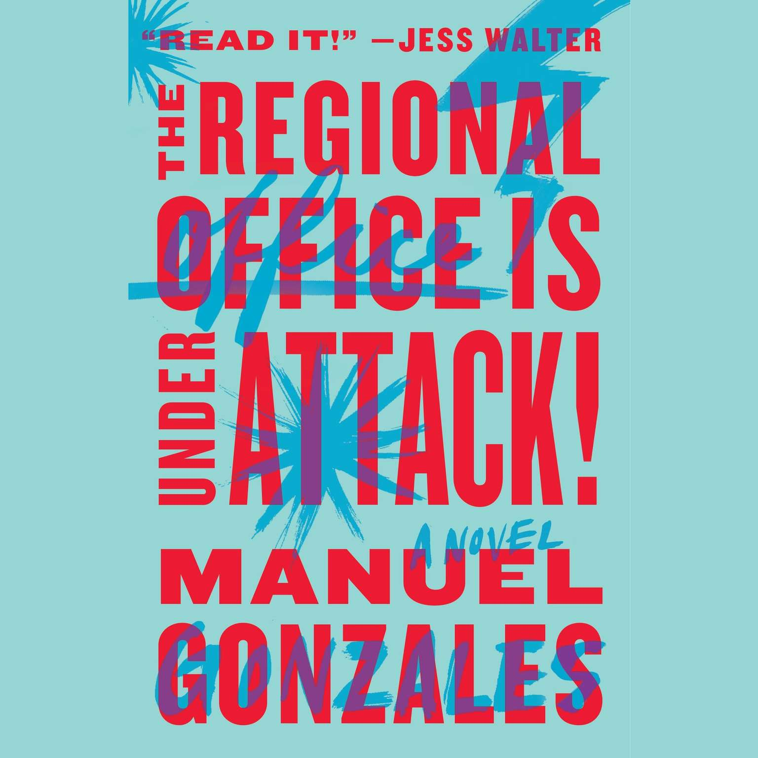 Printable The Regional Office Is Under Attack!: A Novel Audiobook Cover Art