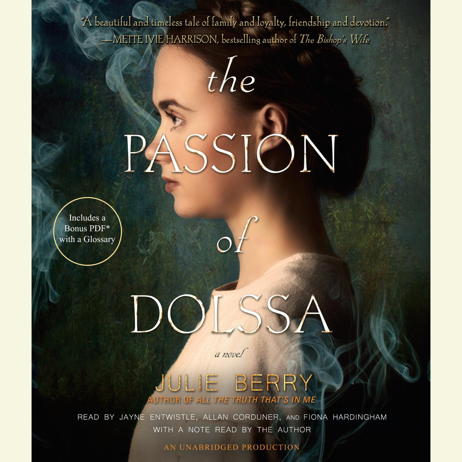 Printable The Passion of Dolssa Audiobook Cover Art