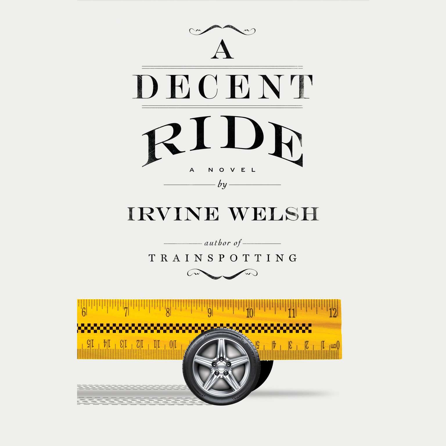 Printable A Decent Ride: A Novel Audiobook Cover Art