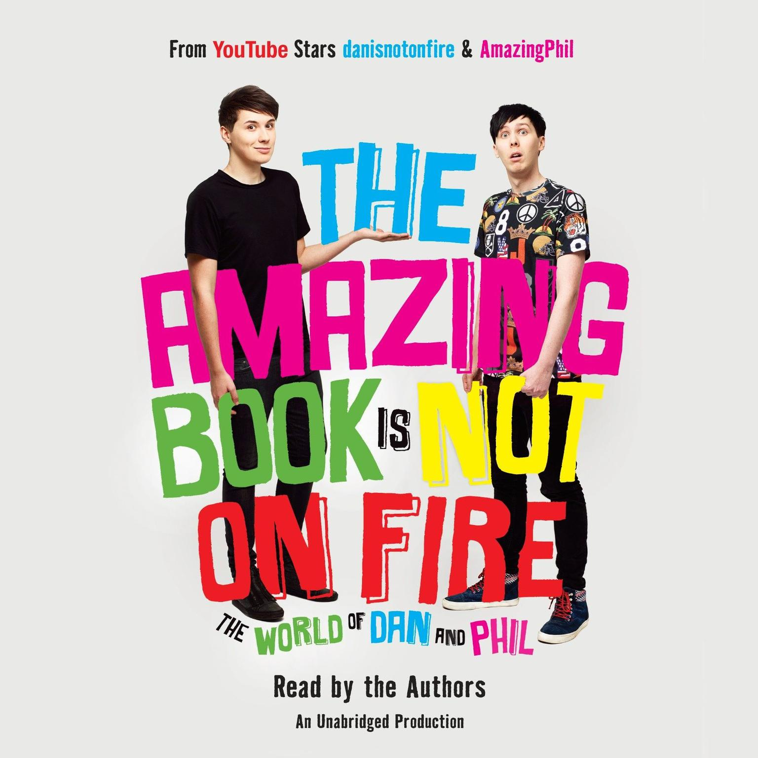 Printable The Amazing Book Is Not on Fire: The World of Dan and Phil Audiobook Cover Art