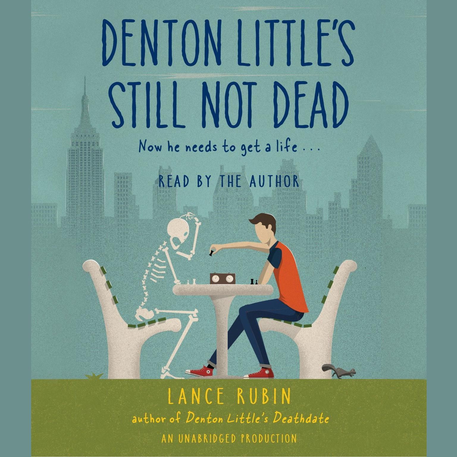Printable Denton Little's Still Not Dead Audiobook Cover Art