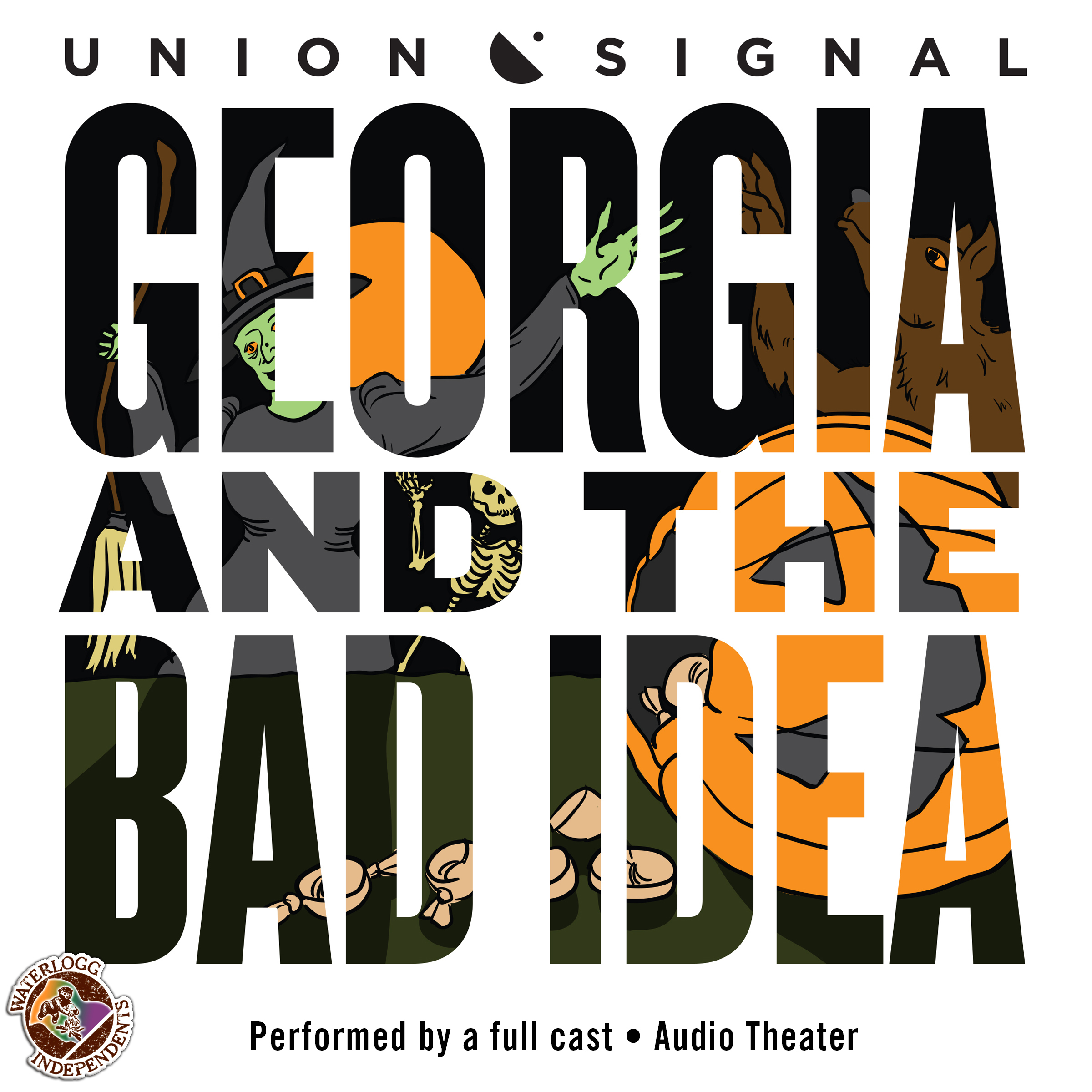 Printable Georgia and the Bad Idea Audiobook Cover Art
