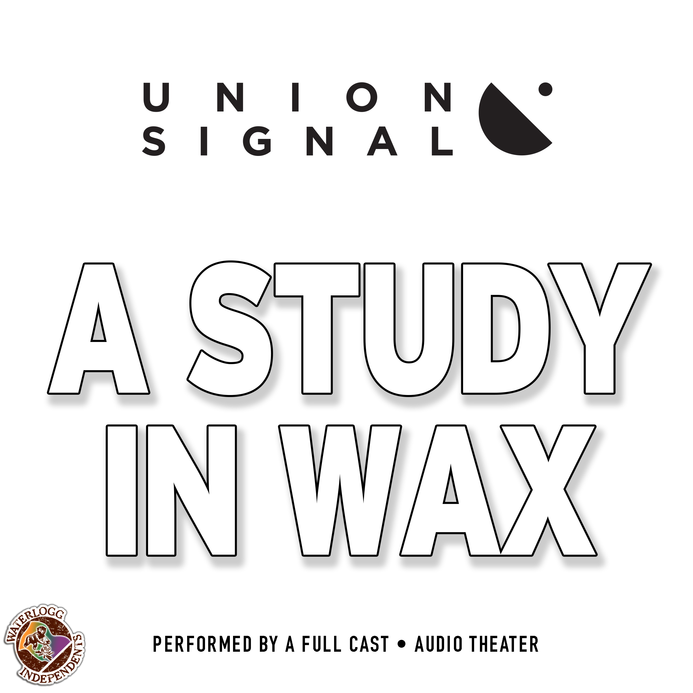 Printable A Study in Wax Audiobook Cover Art