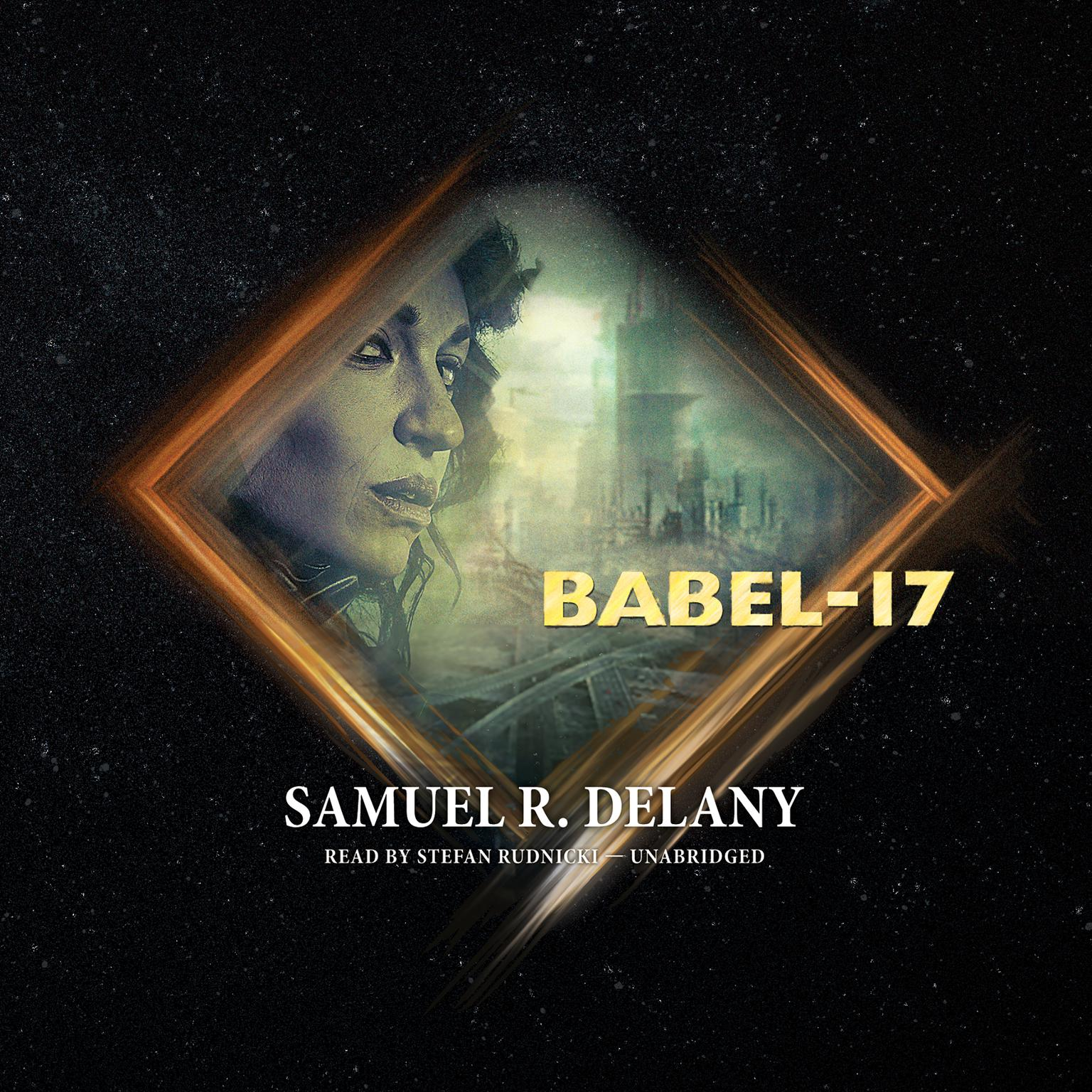Printable Babel-17 Audiobook Cover Art