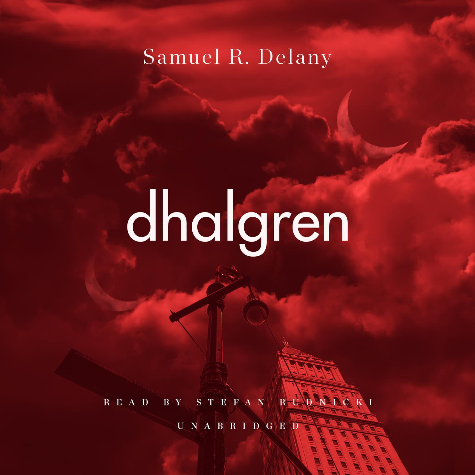 Printable Dhalgren Audiobook Cover Art