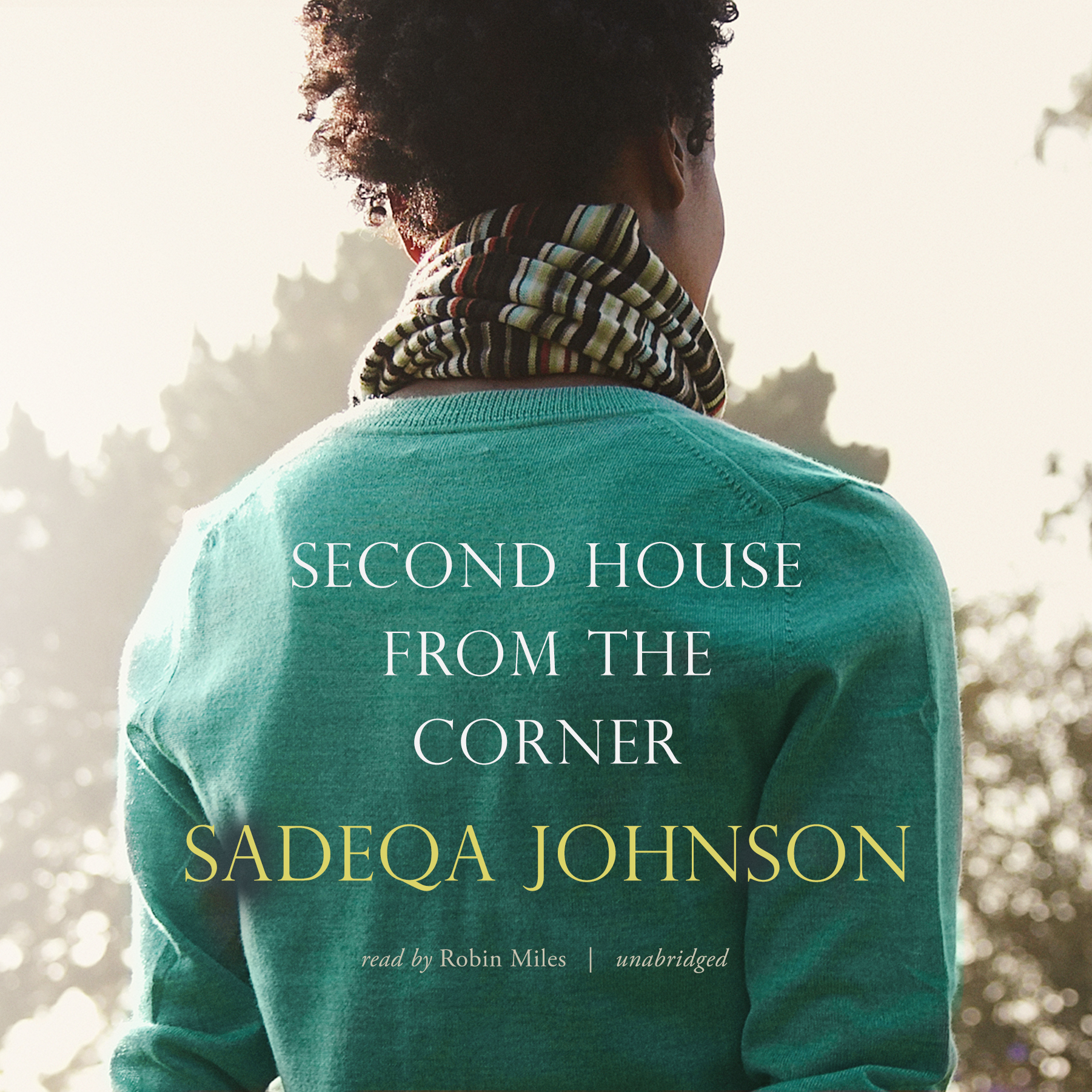 Printable Second House from the Corner Audiobook Cover Art