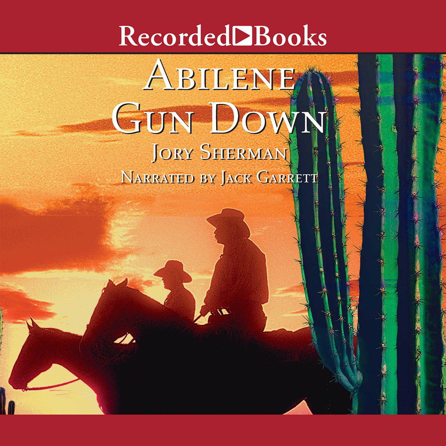 Printable Abilene Gun Down Audiobook Cover Art