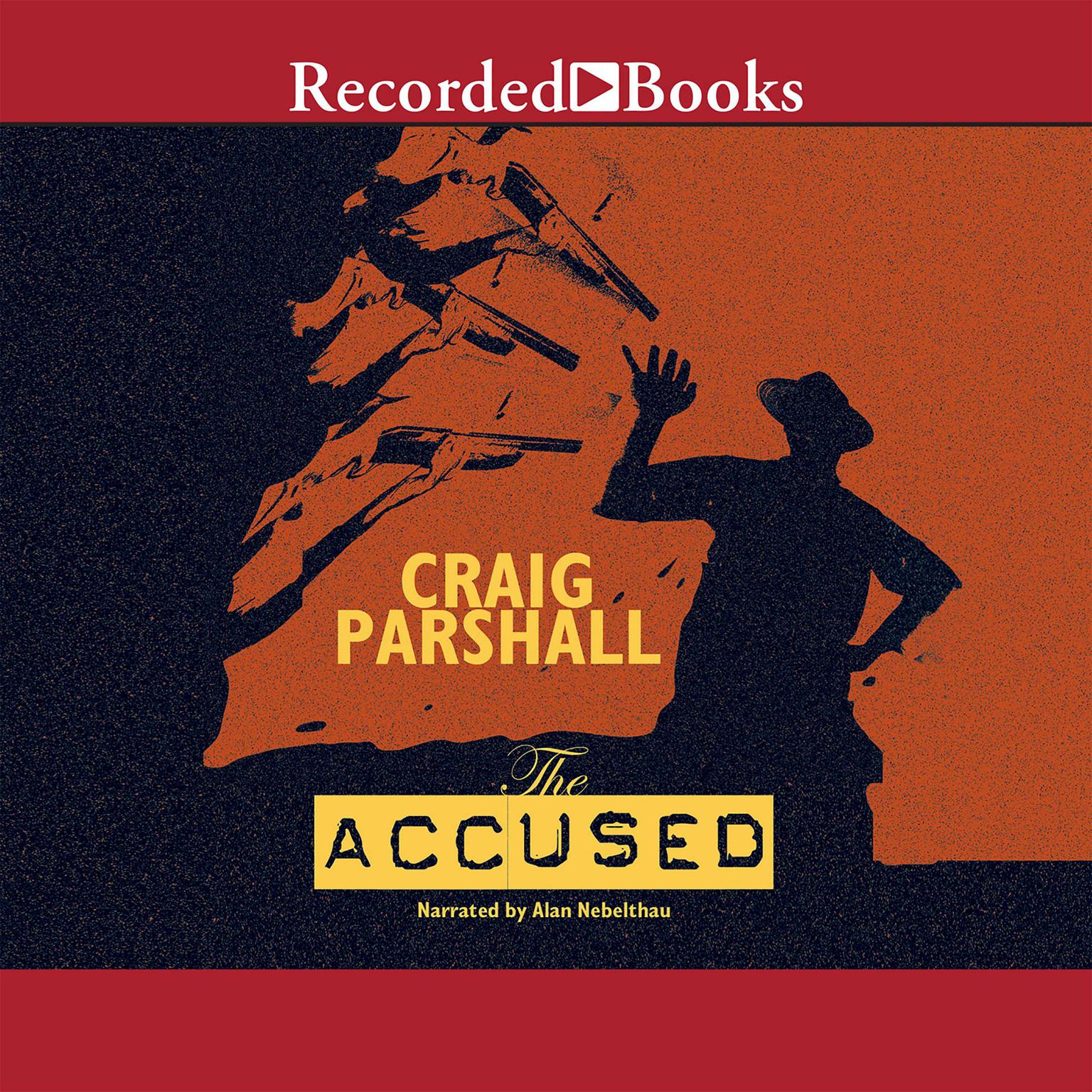 Printable The Accused Audiobook Cover Art