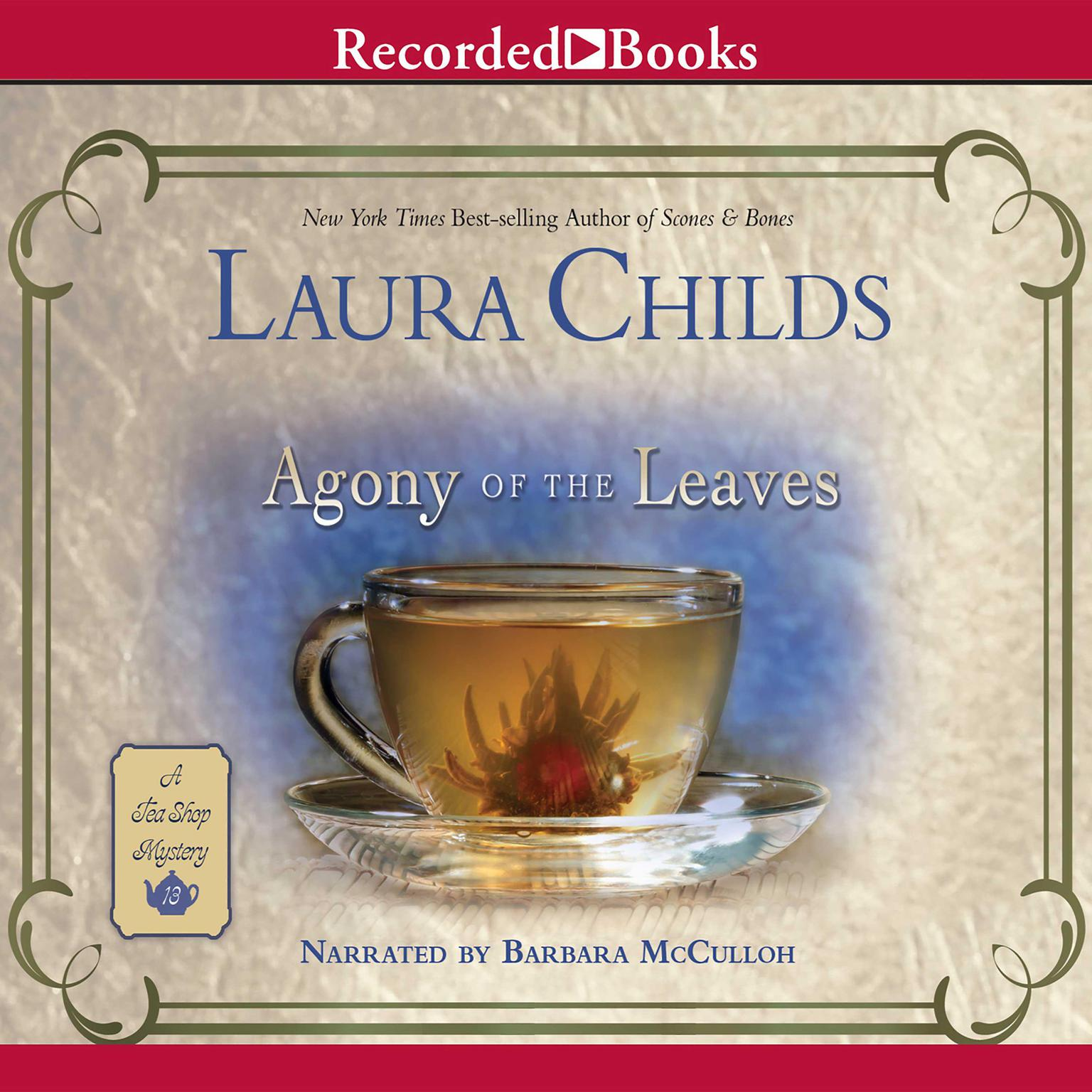 Printable Agony of the Leaves Audiobook Cover Art