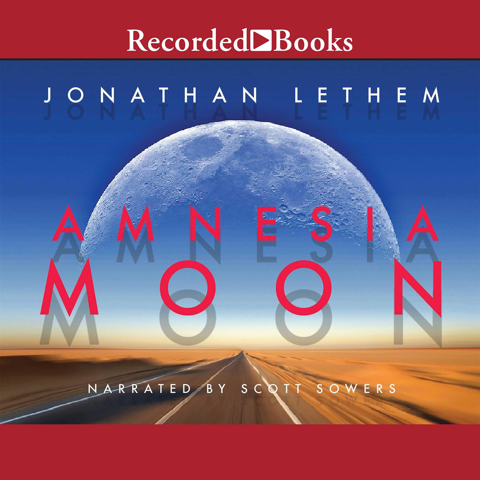 Printable Amnesia Moon Audiobook Cover Art