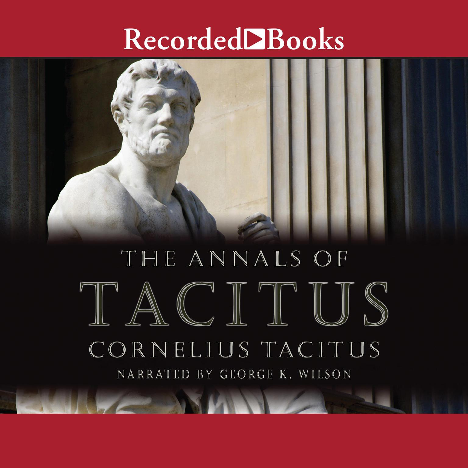 Printable The Annals of Tacitus: Excerpts Audiobook Cover Art