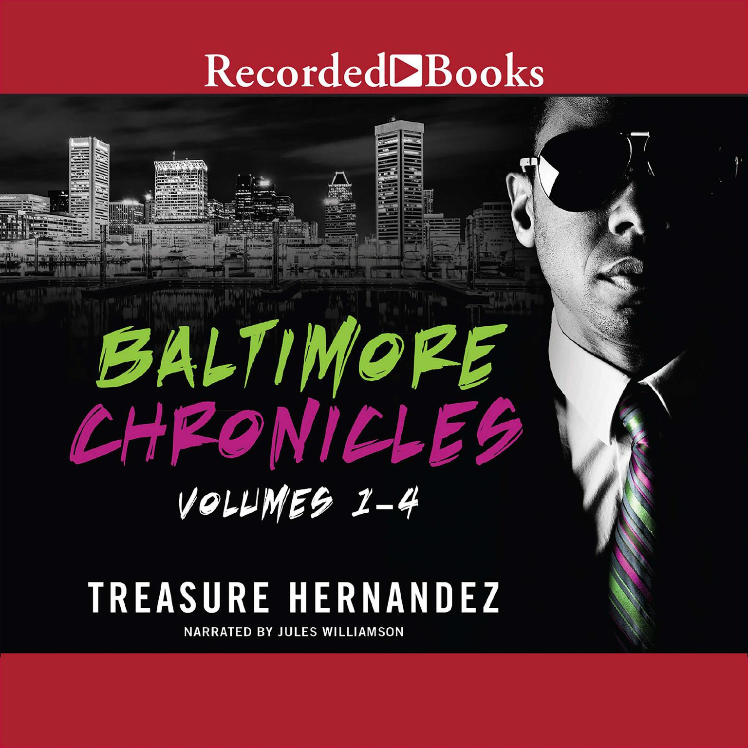 Printable The Baltimore Chronicles Saga Audiobook Cover Art