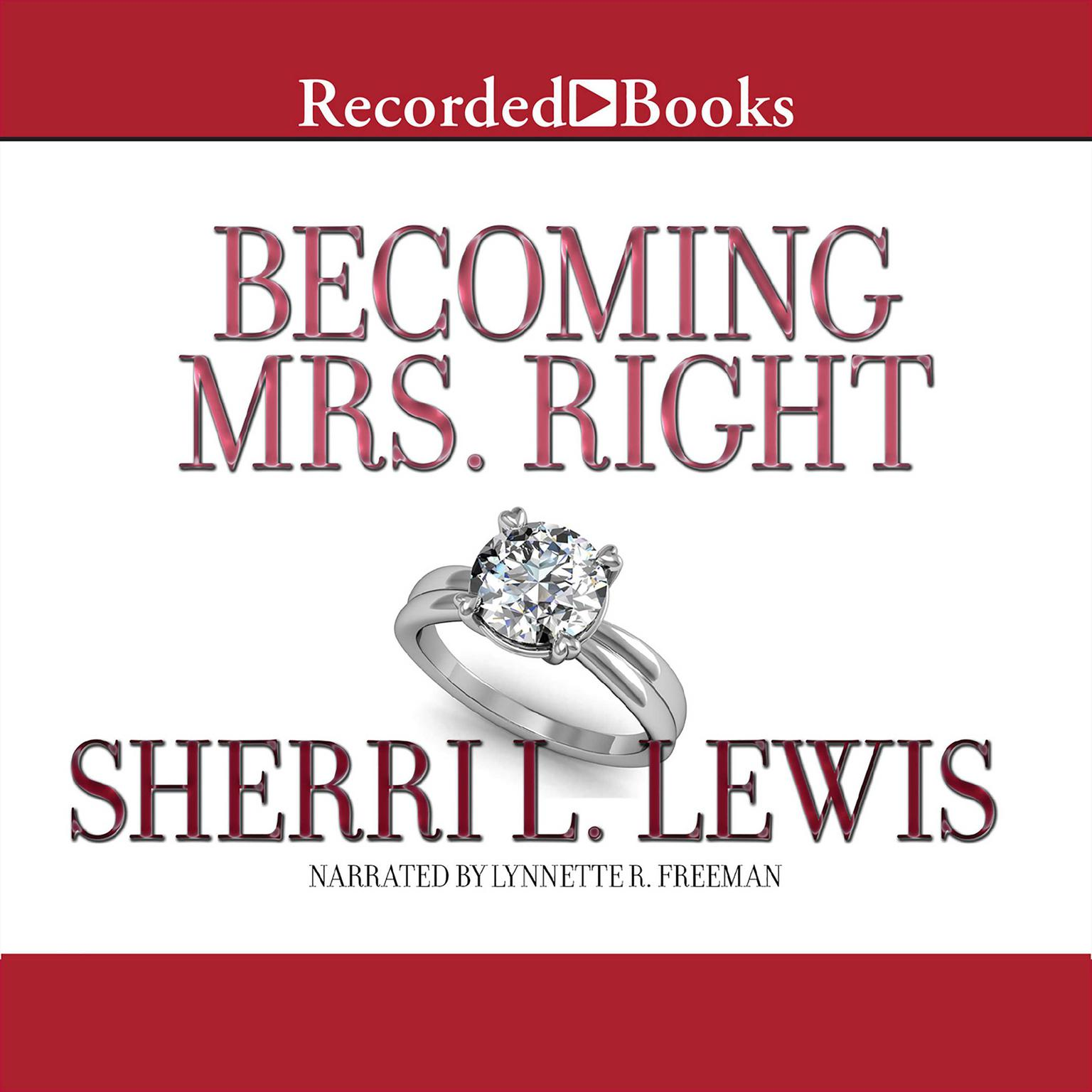 Printable Becoming Mrs. Right Audiobook Cover Art