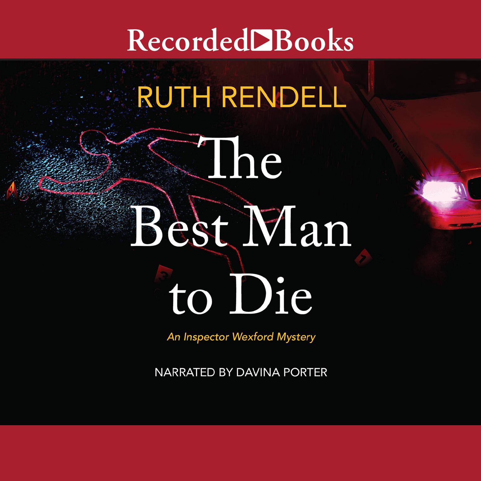 Printable The Best Man to Die Audiobook Cover Art