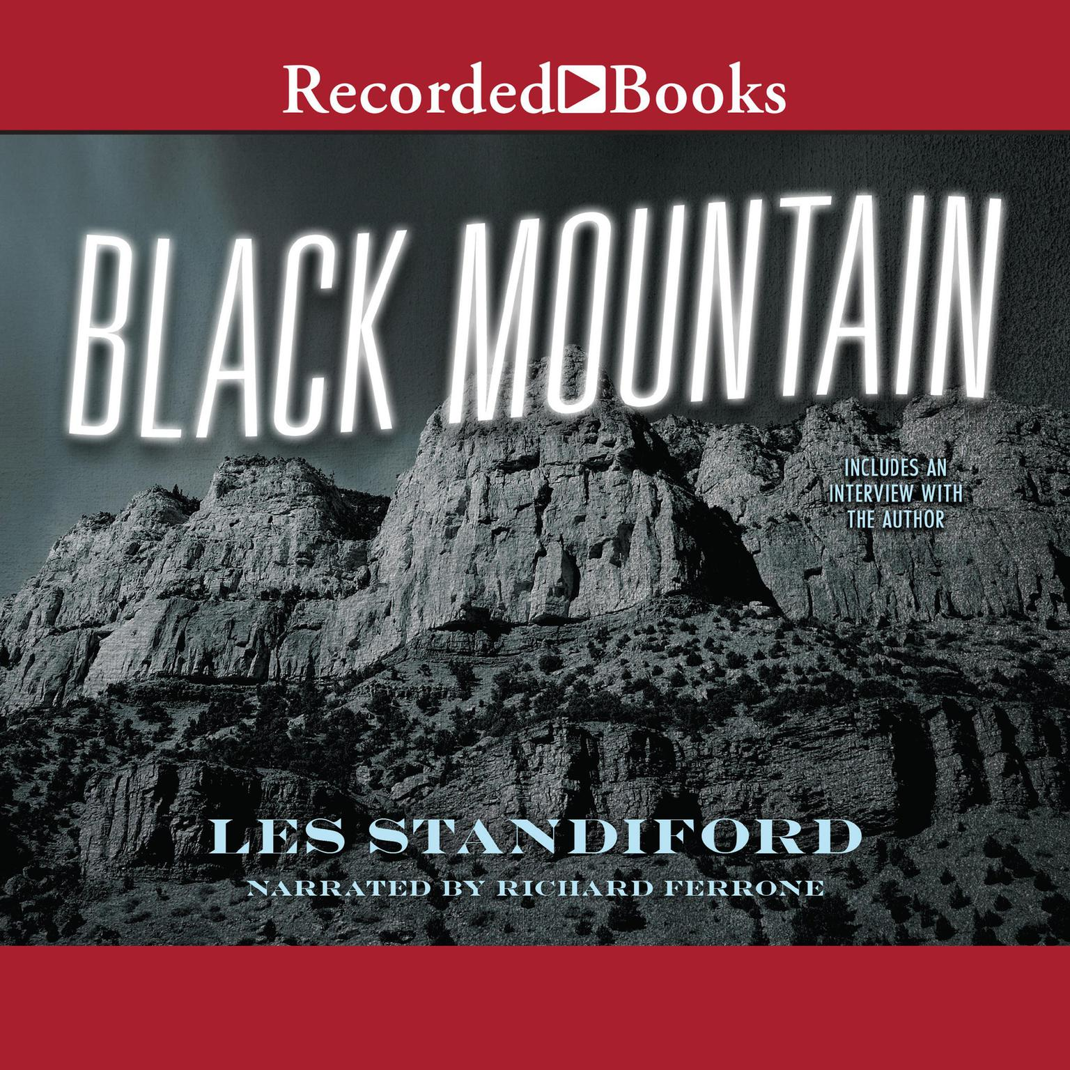 Printable Black Mountain Audiobook Cover Art