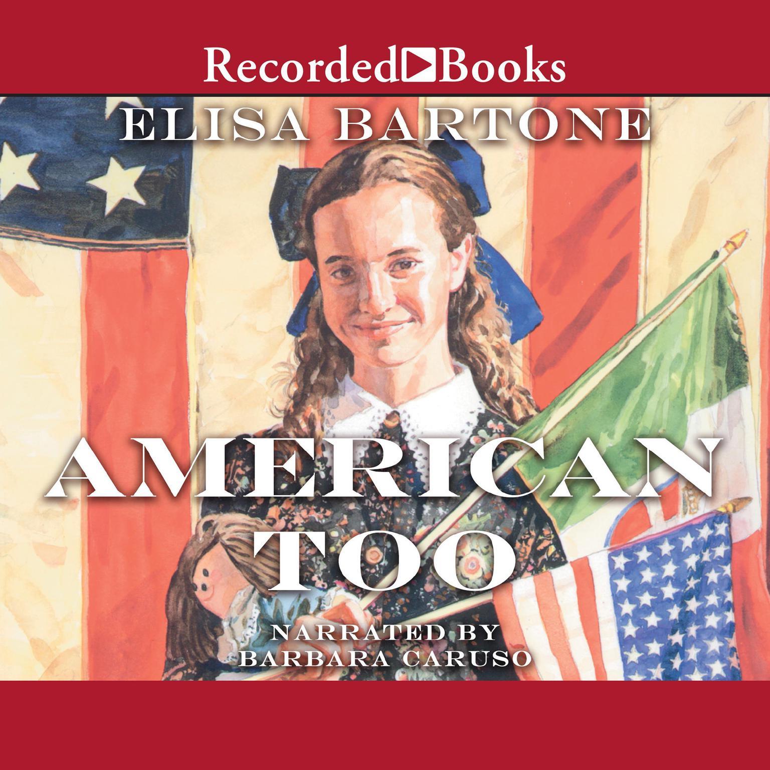 Printable American Too Audiobook Cover Art