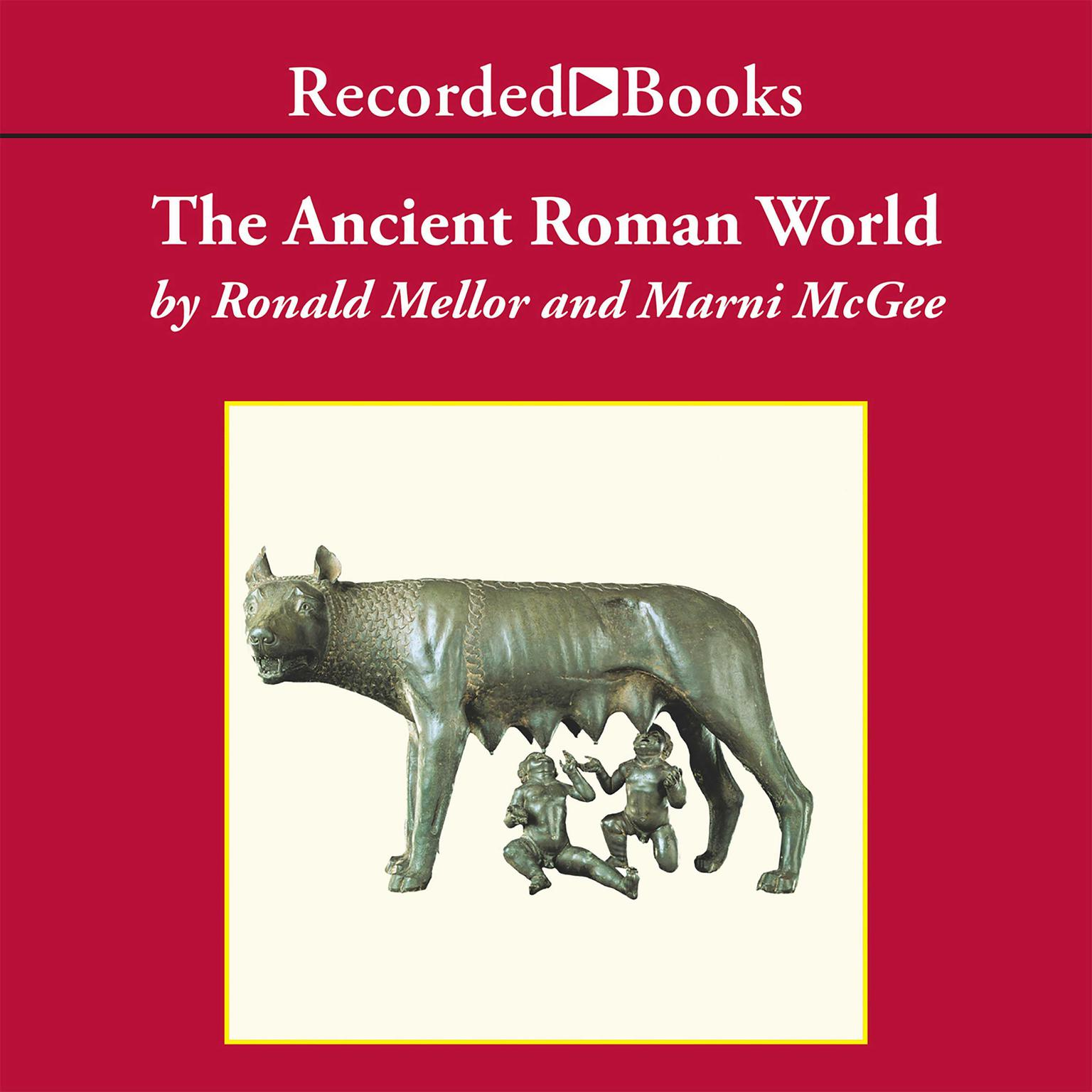 Printable The Ancient Roman World Audiobook Cover Art